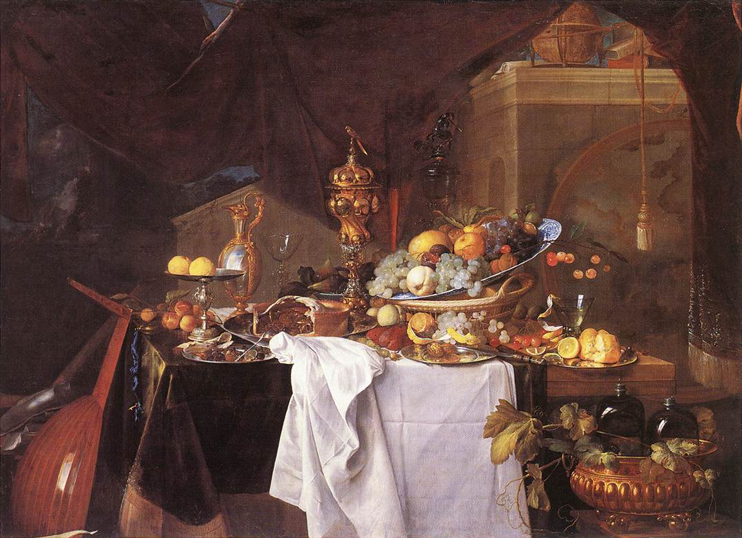 A Table of Desserts, Louvre