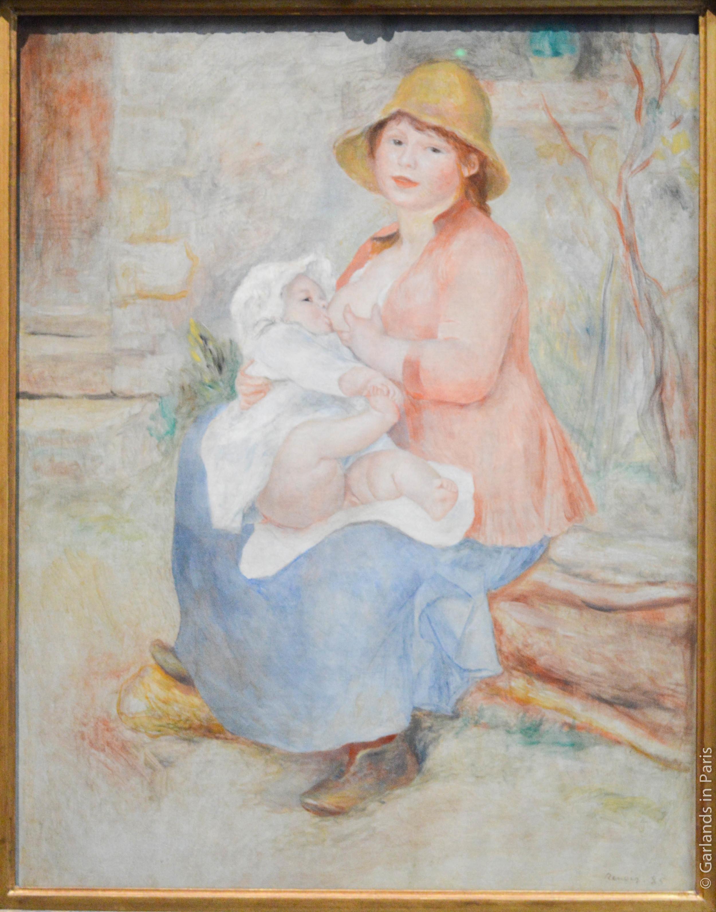 Mother breastfeeding, Musée d'Orsay
