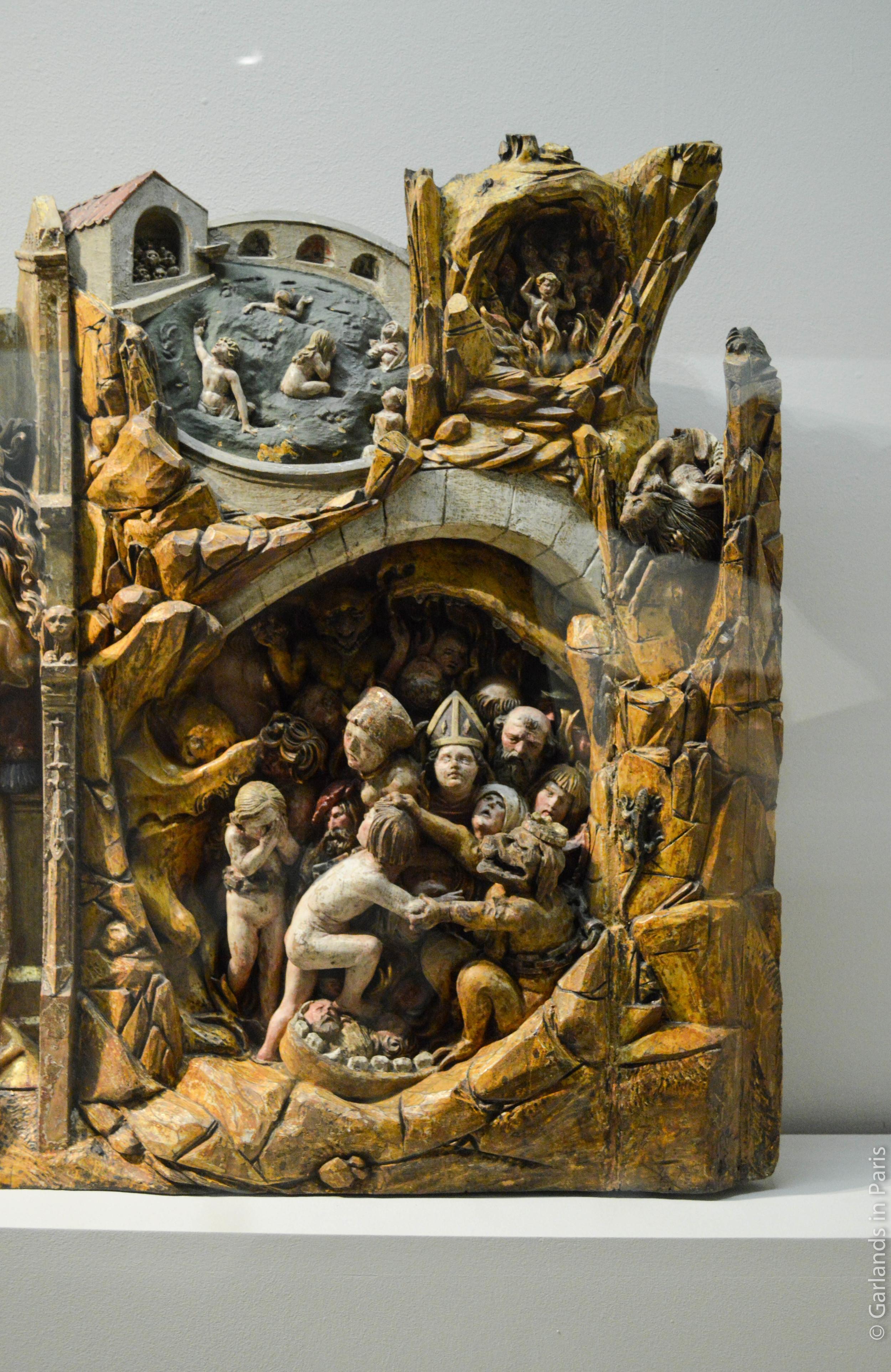 Hell, Exposition Sculptures Souabes, Musée de Cluny, Paris