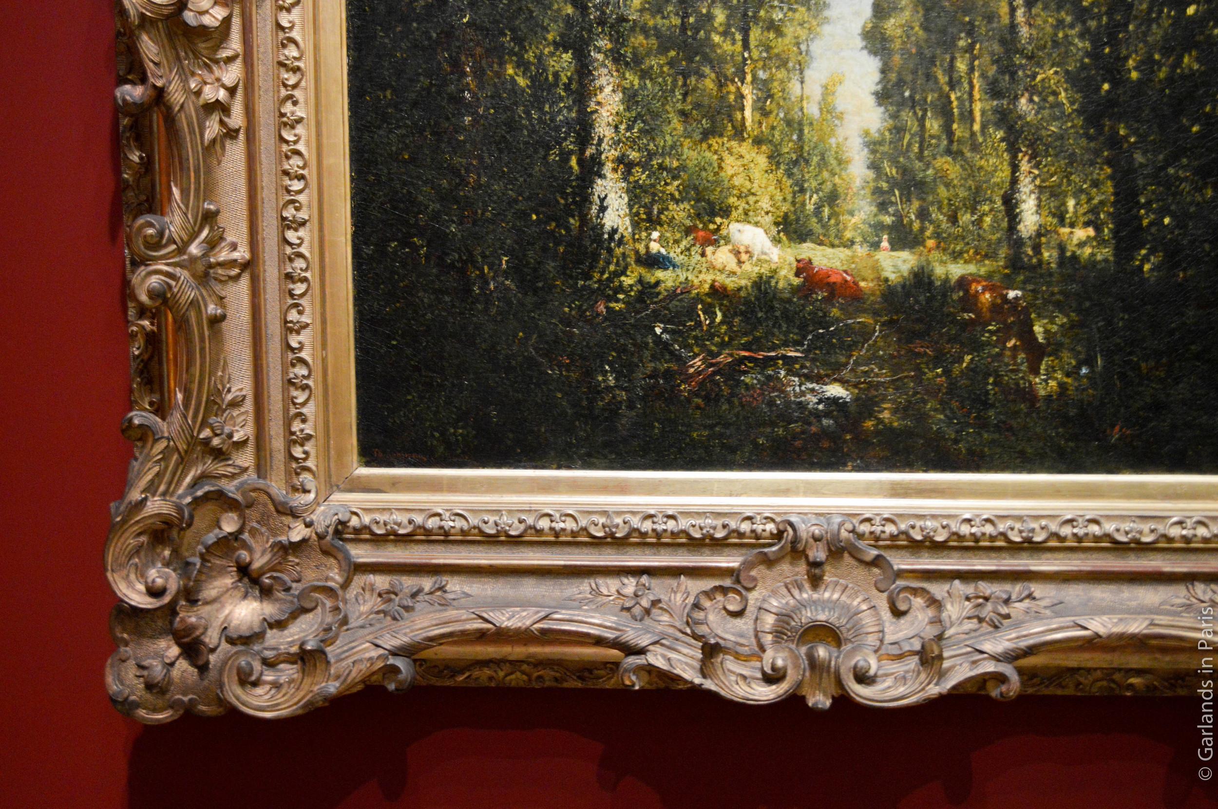 Forest painting, Musée d'Orsay, Paris