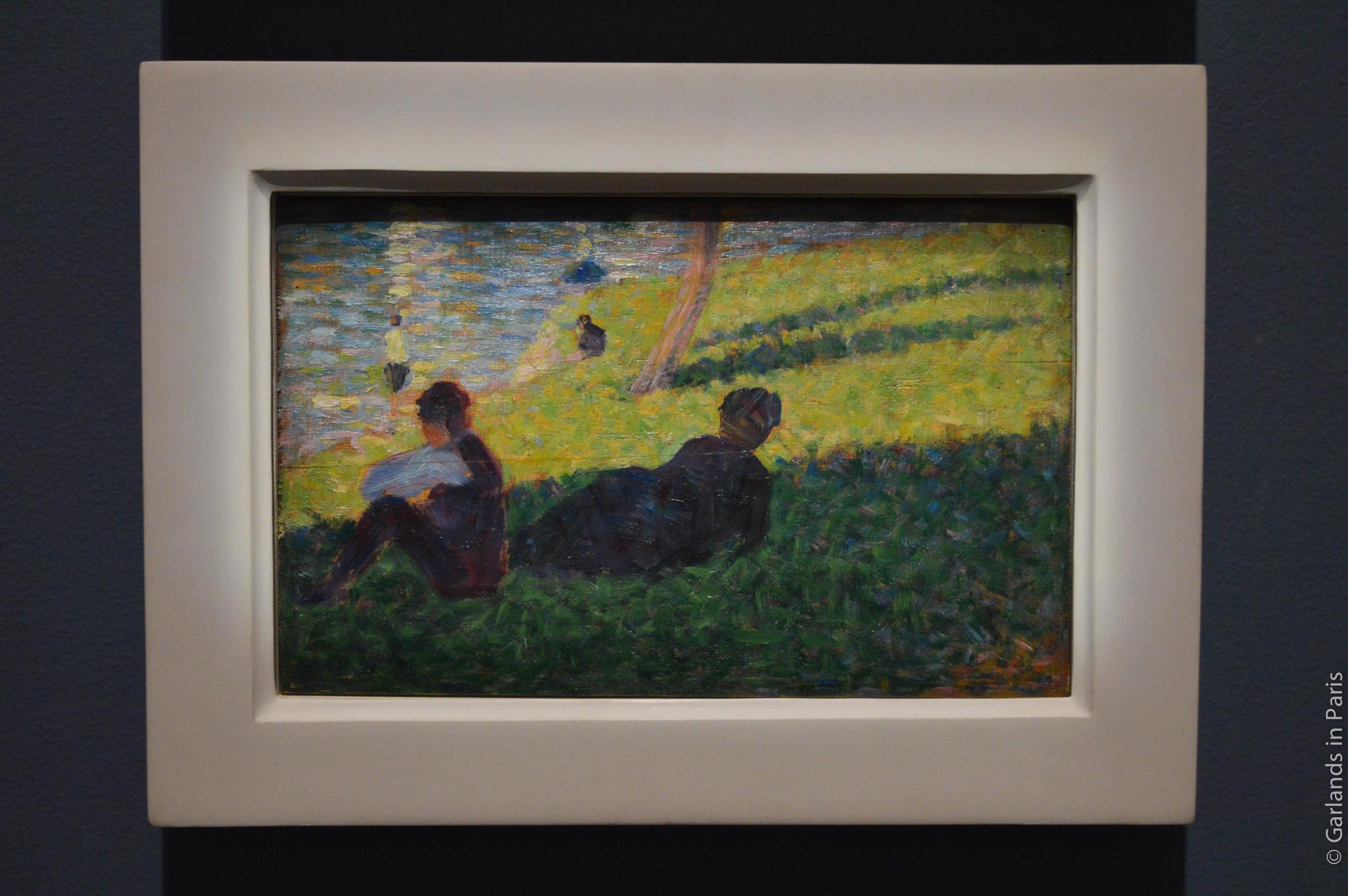 Green, painting, Orsay, Paris
