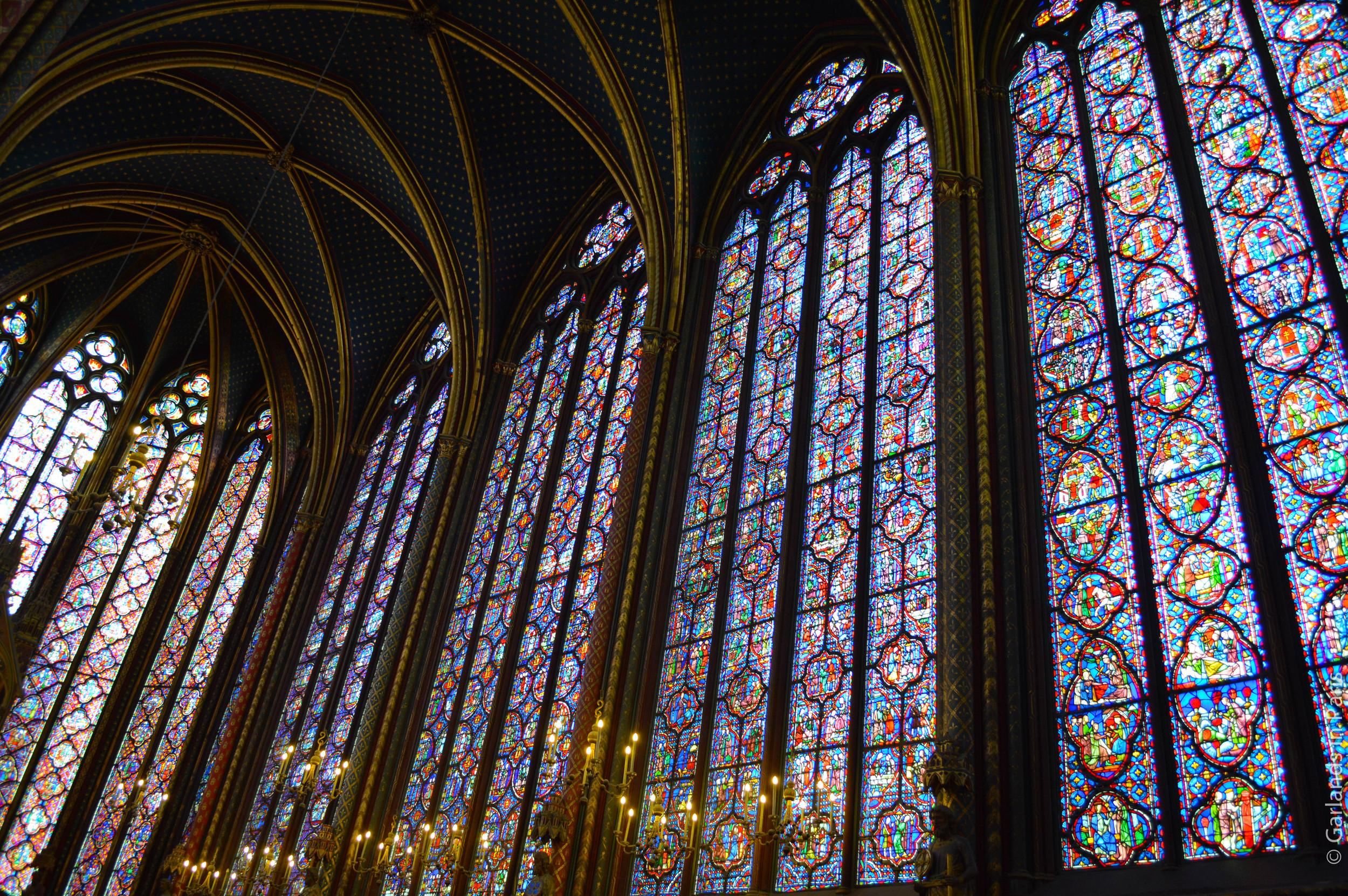 Sainte-Chapelle, Paris, Stained Glass
