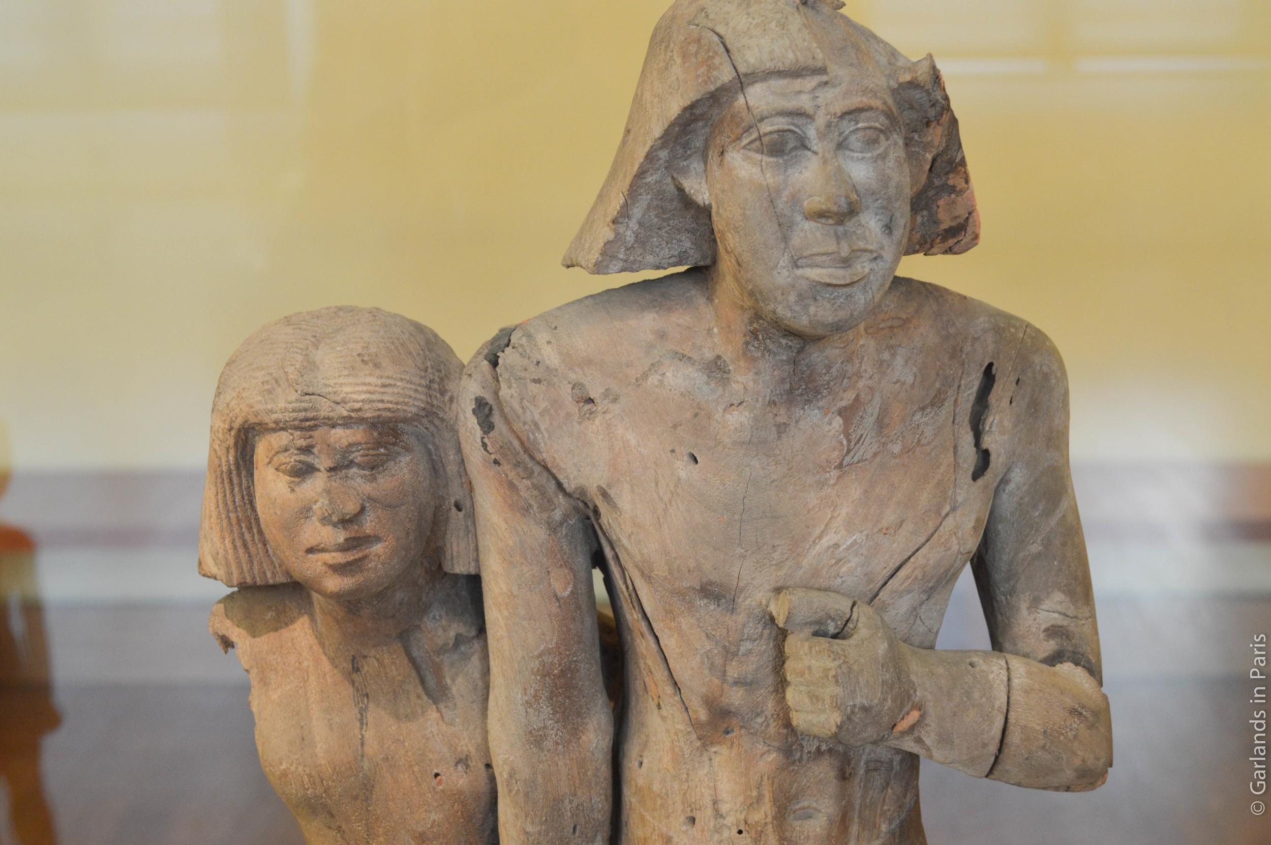 Love, Ancient Egypt, Musée du Louvre, Paris