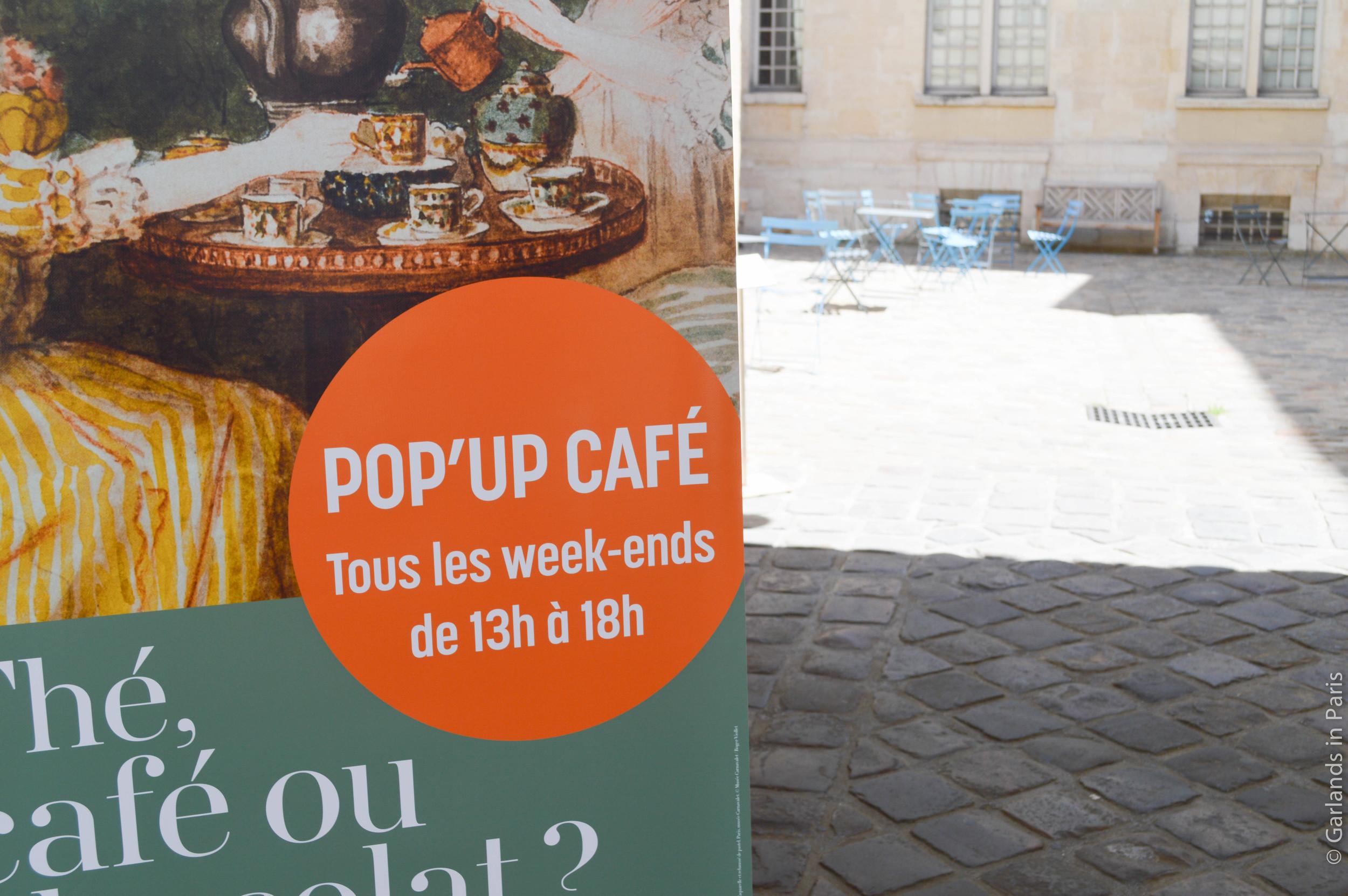 Pop up café, Musée Cognacq-Jay
