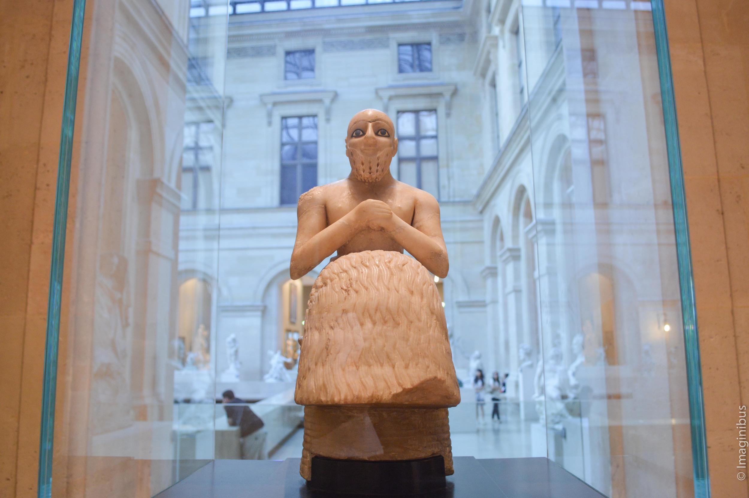 Ebih-il, Mesopotamia, Musée du Louvre, Paris