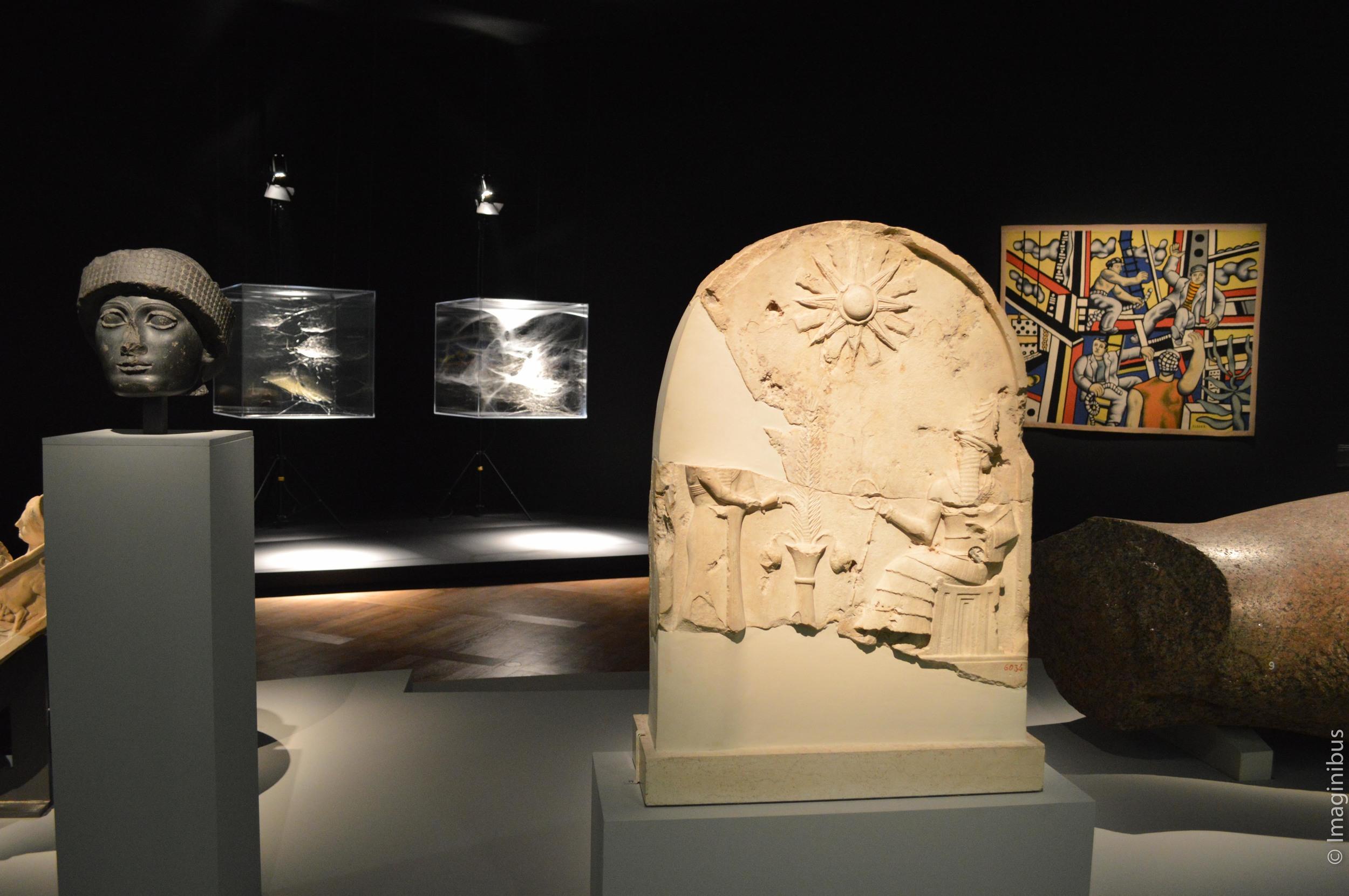 Une brève histoire de l'avenir, Louvre