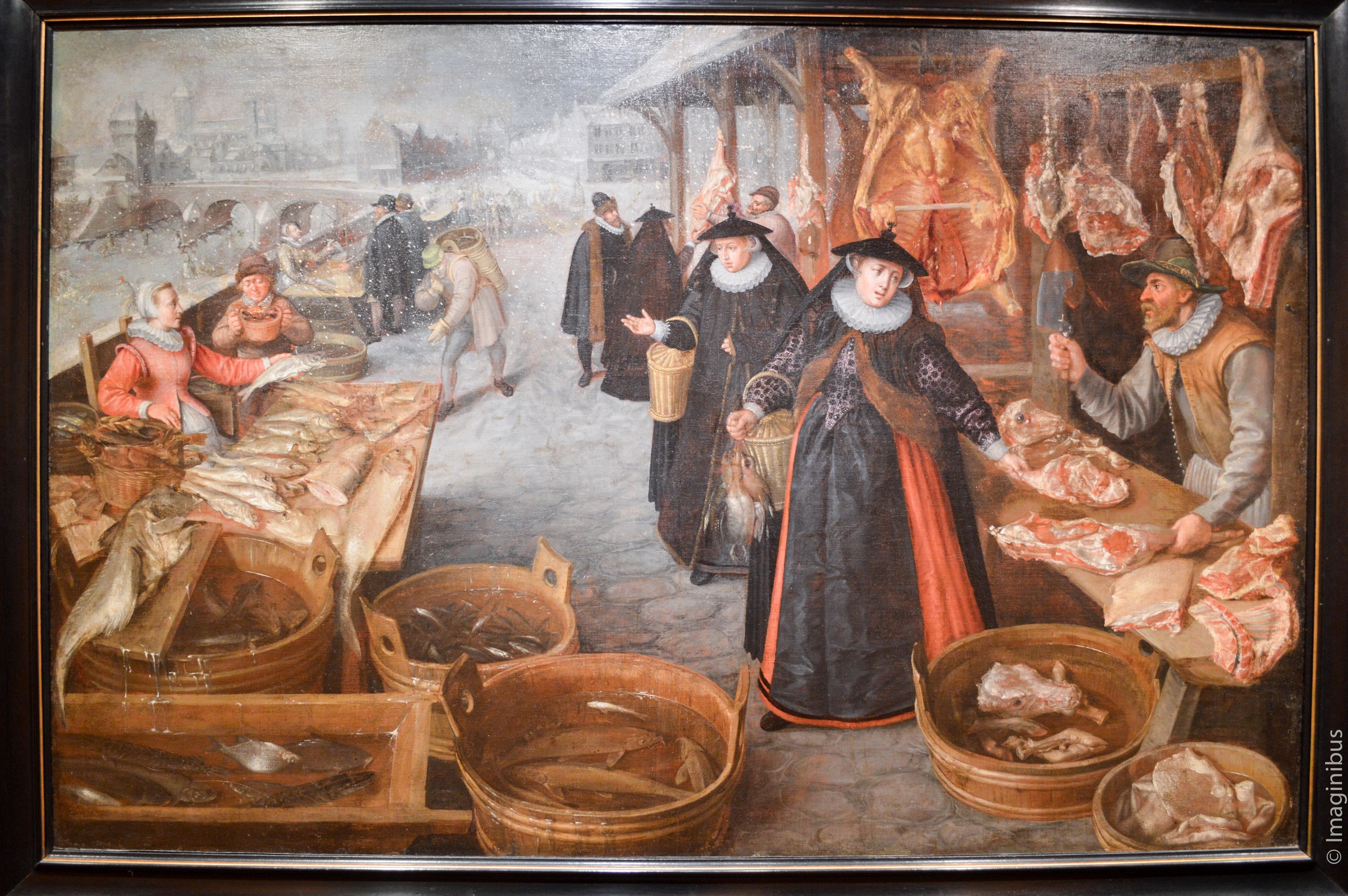 A Meat and Fish Market, Montreal Museum of Fine Arts