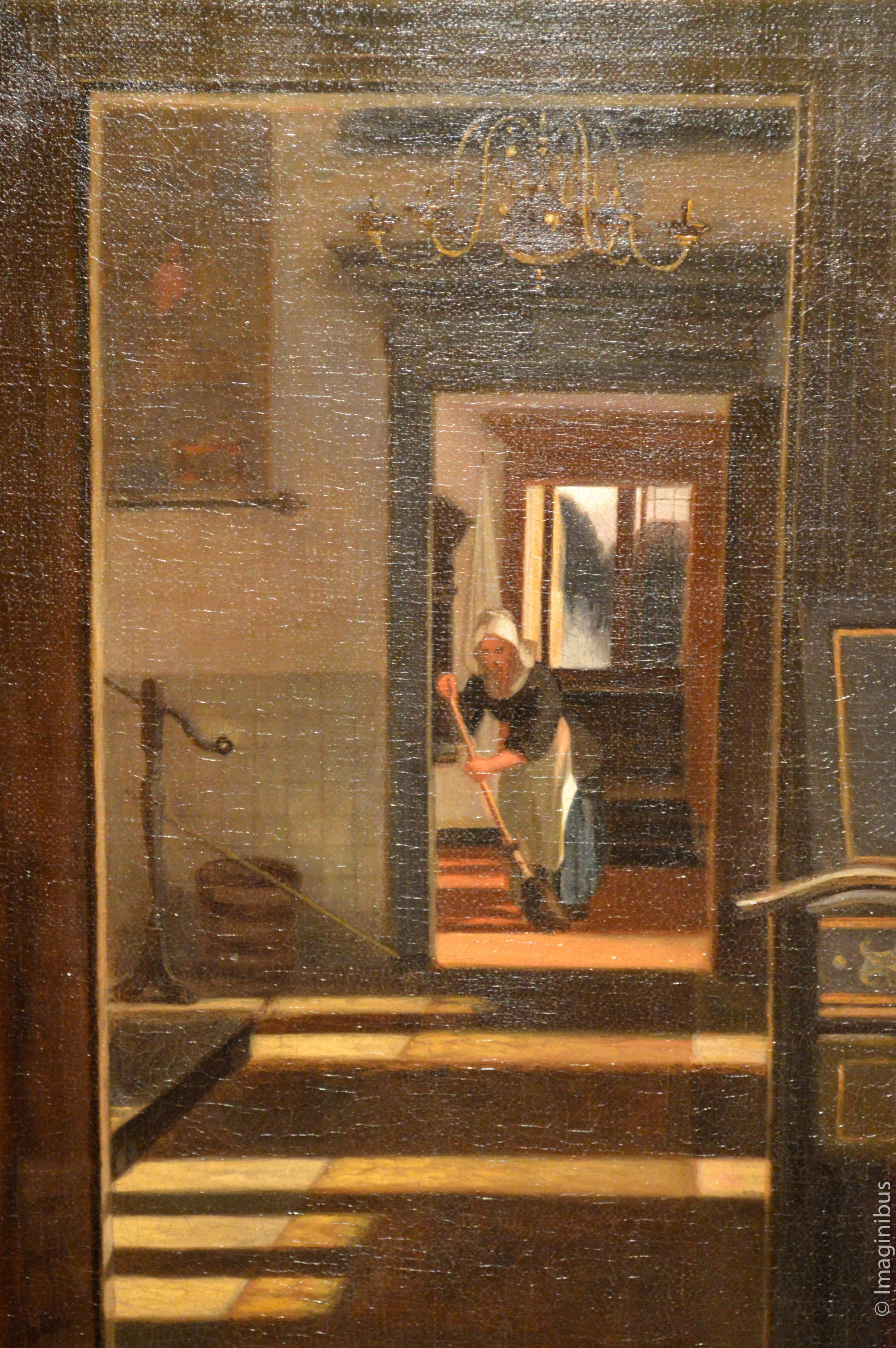 Interior with a Woman Playing a Virginal, Montreal Museum of Fine Arts
