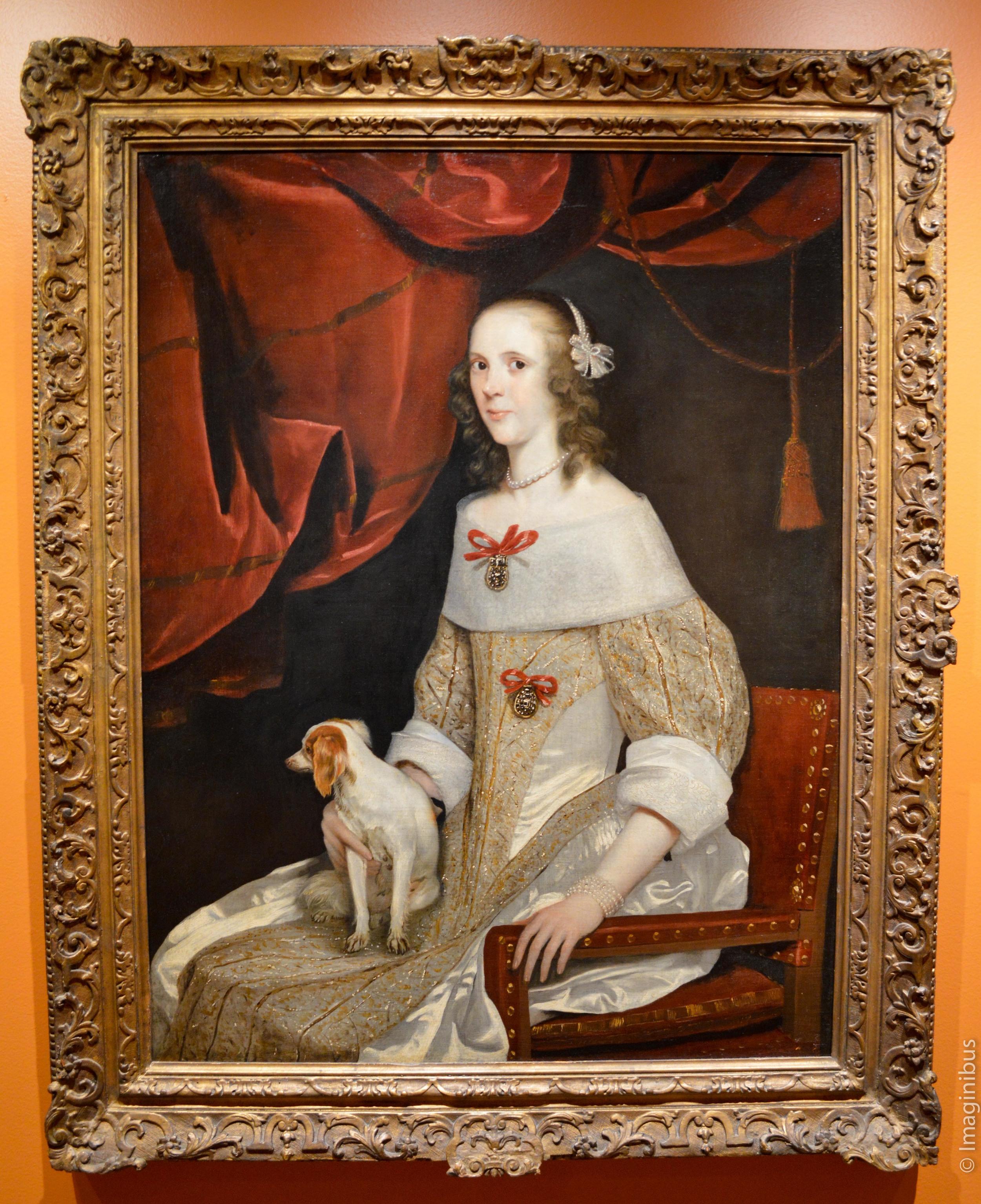 Portrait of Odilia van Wassenaar, Montreal Museum of Fine Arts