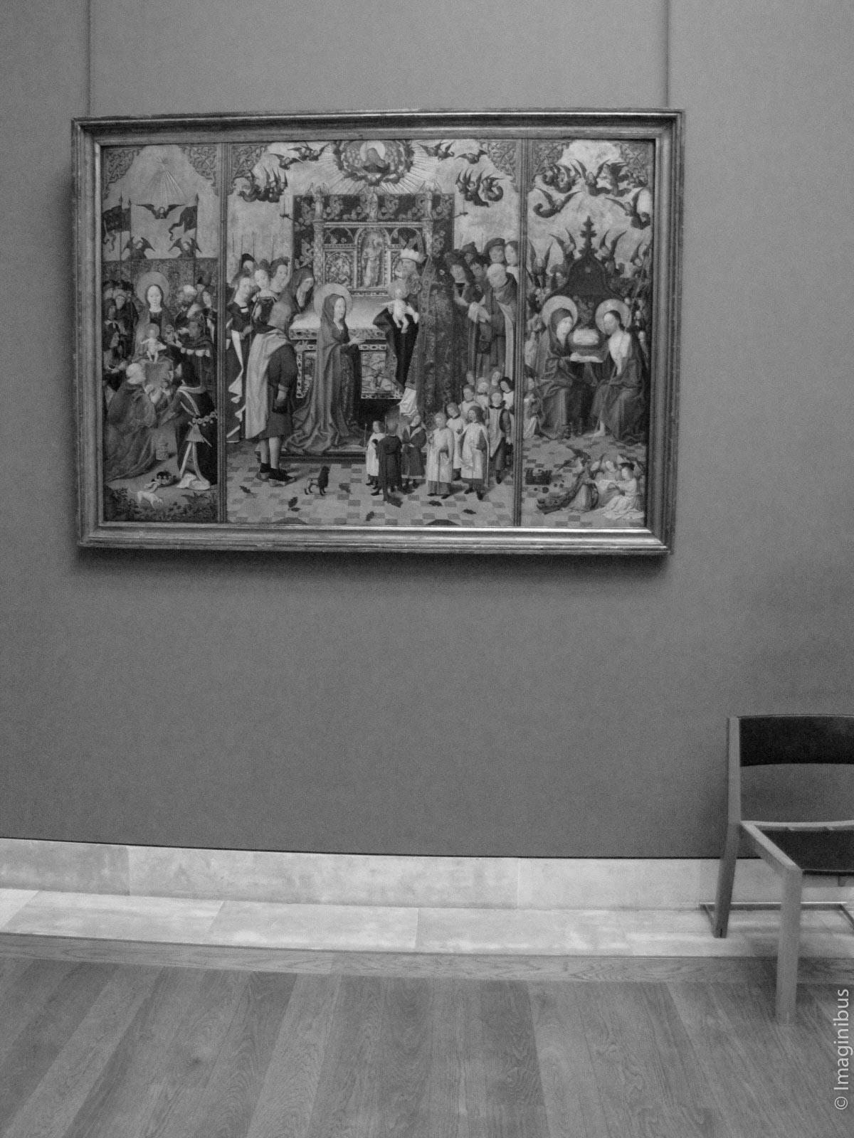 Christmas in the Musée du Louvre, Paris