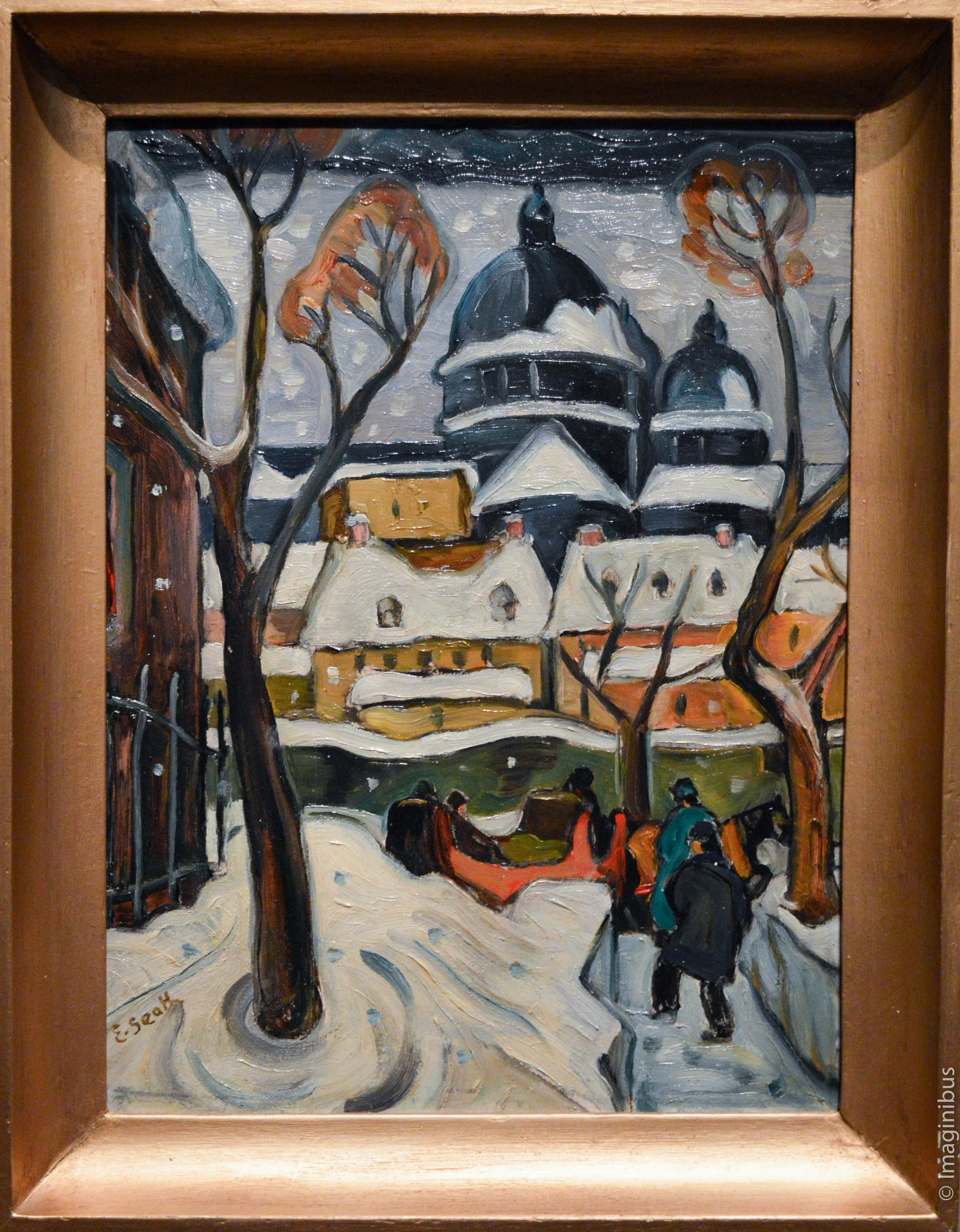 Colours of Jazz, Montreal Museum of Fine Arts, Snow