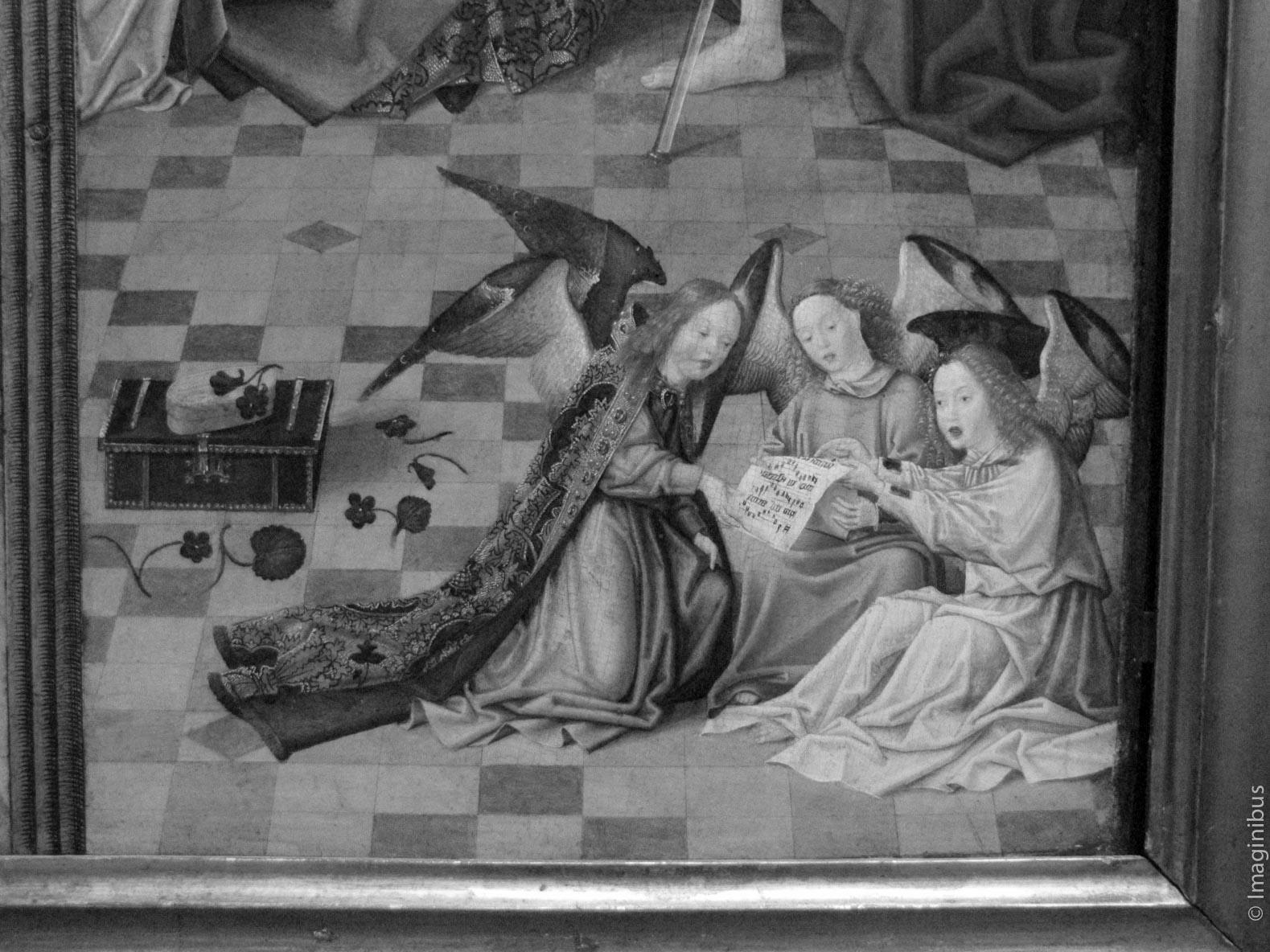 Christmas, Angels, Musée du Louvre, Paris