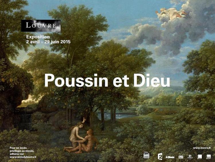Poussin et Dieu, Musée du Louvre, Paris