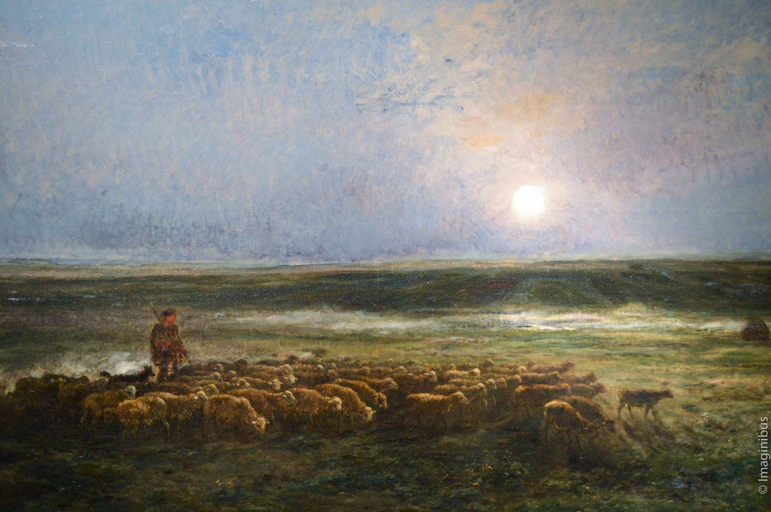 Montreal Museum of Fine Arts, Moonrise, Sheep