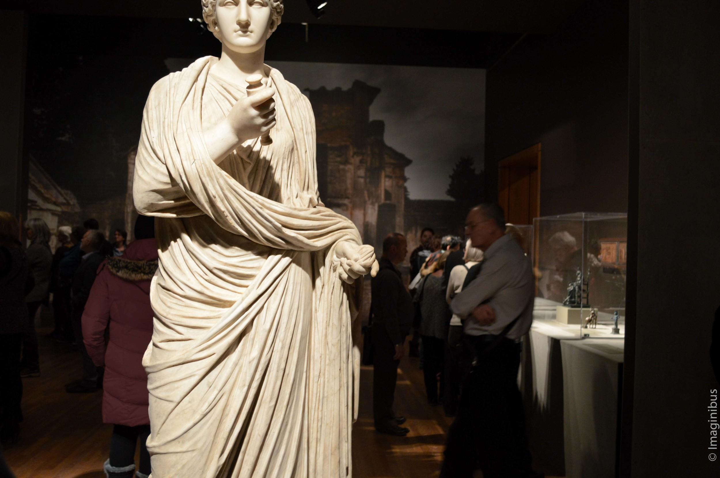 Pompeii, Montreal Museum of Fine Arts, Matrona Woman Statue