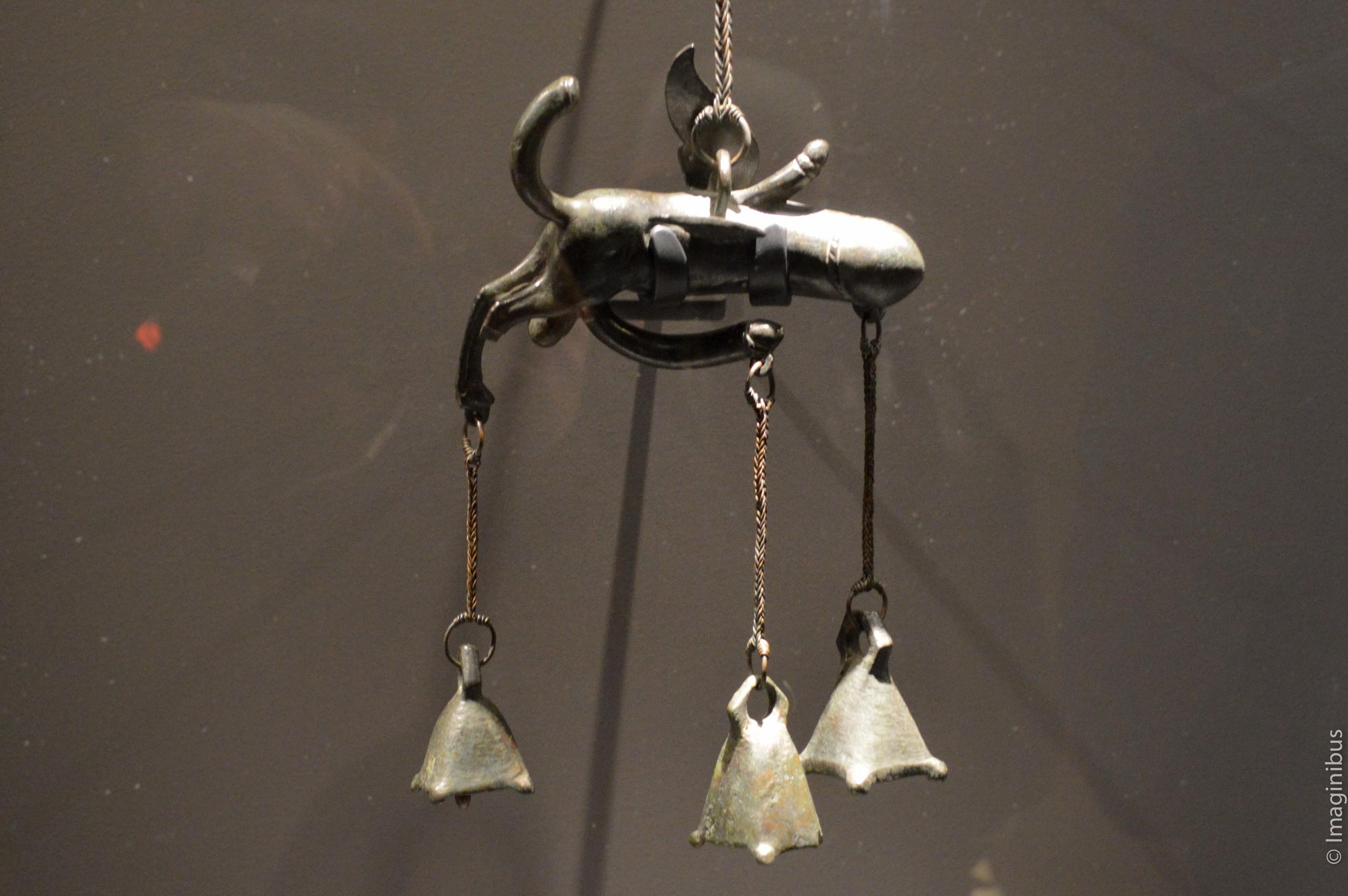 Pompeii, Montreal Museum of Fine Arts, Phallus Wind Chime