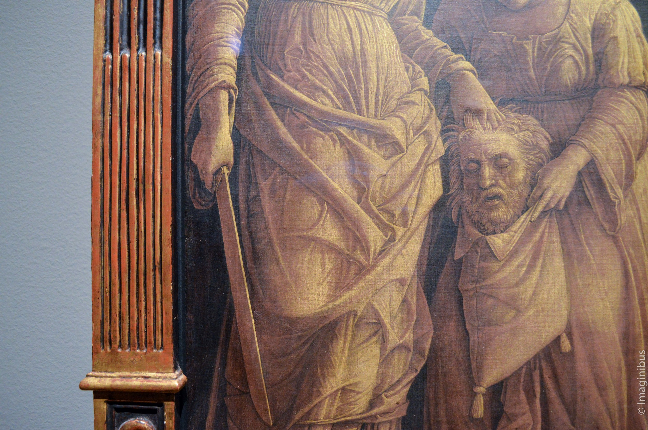 Montreal Museum of Fine Arts, Mantegna, Judith with the Head of Holofernes