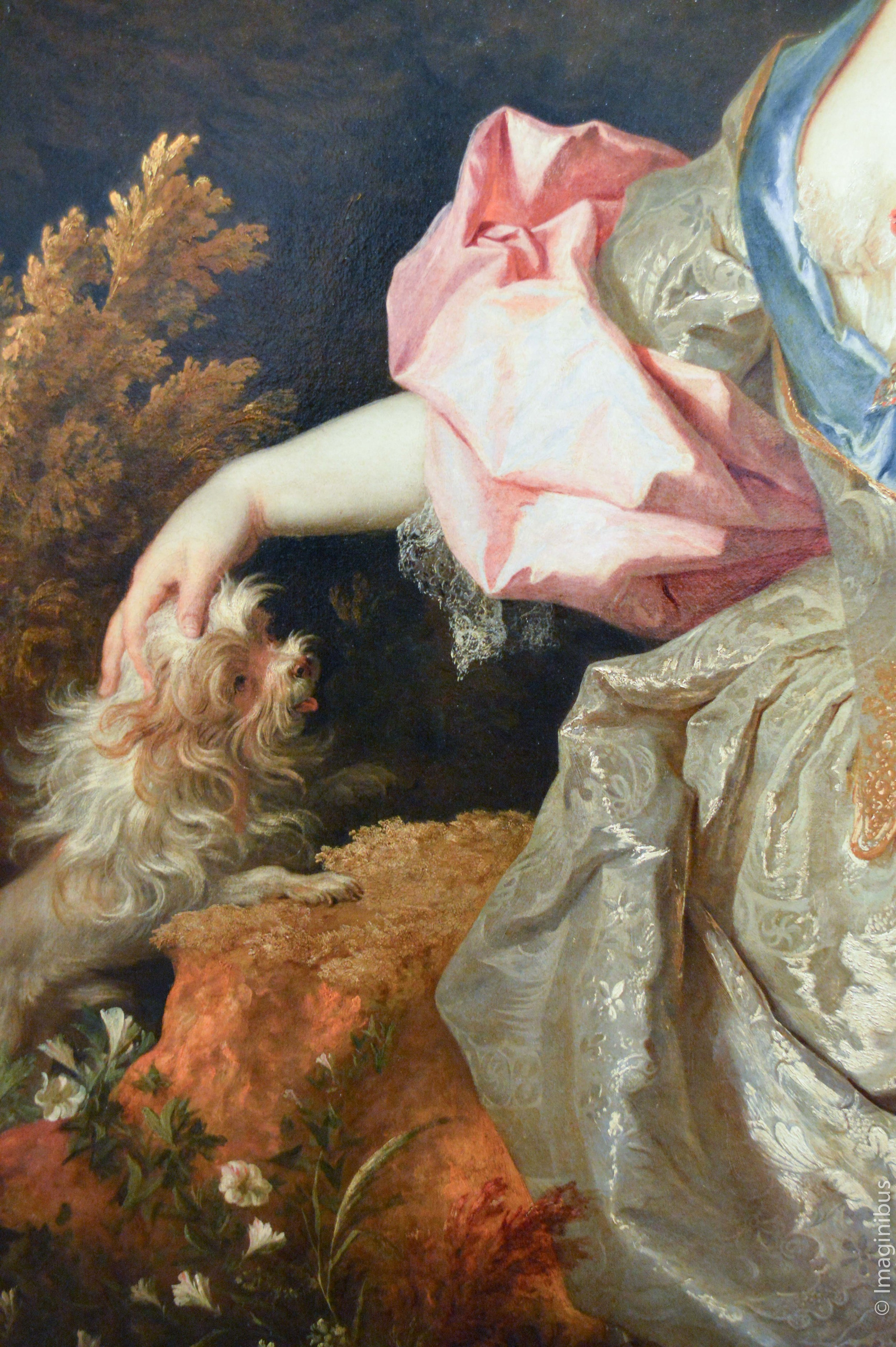 Montreal Museum of Fine Arts, Nicolas de Largillierre, Portrait of a Woman as Astrea, Probably Mary Josephine Drummond