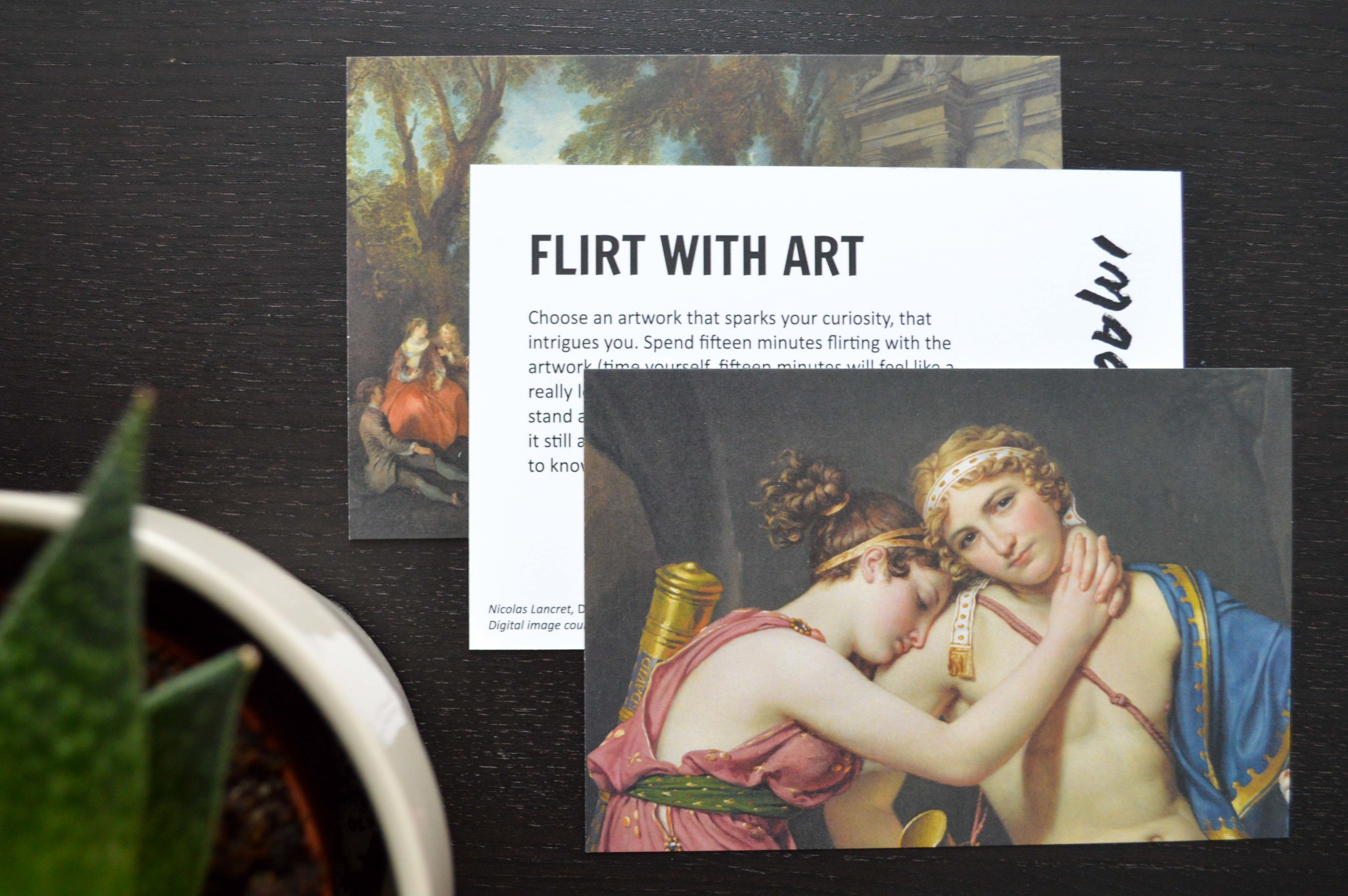 Digital image on the card courtesy of the Getty's Open Content Program.