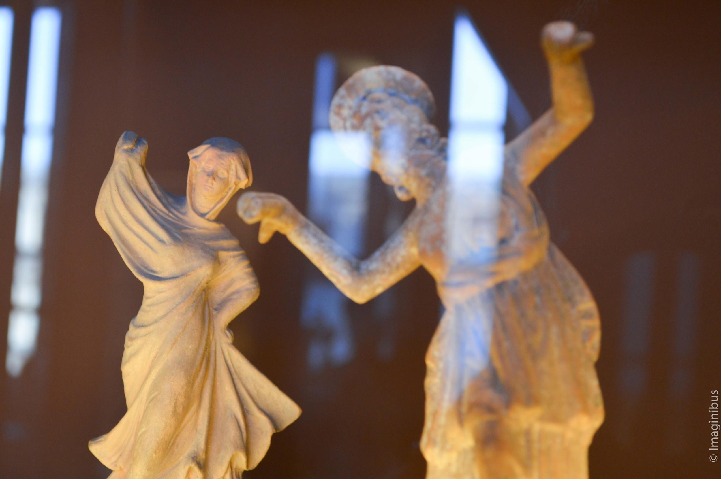 Louvre, Greek Terracotta Statues