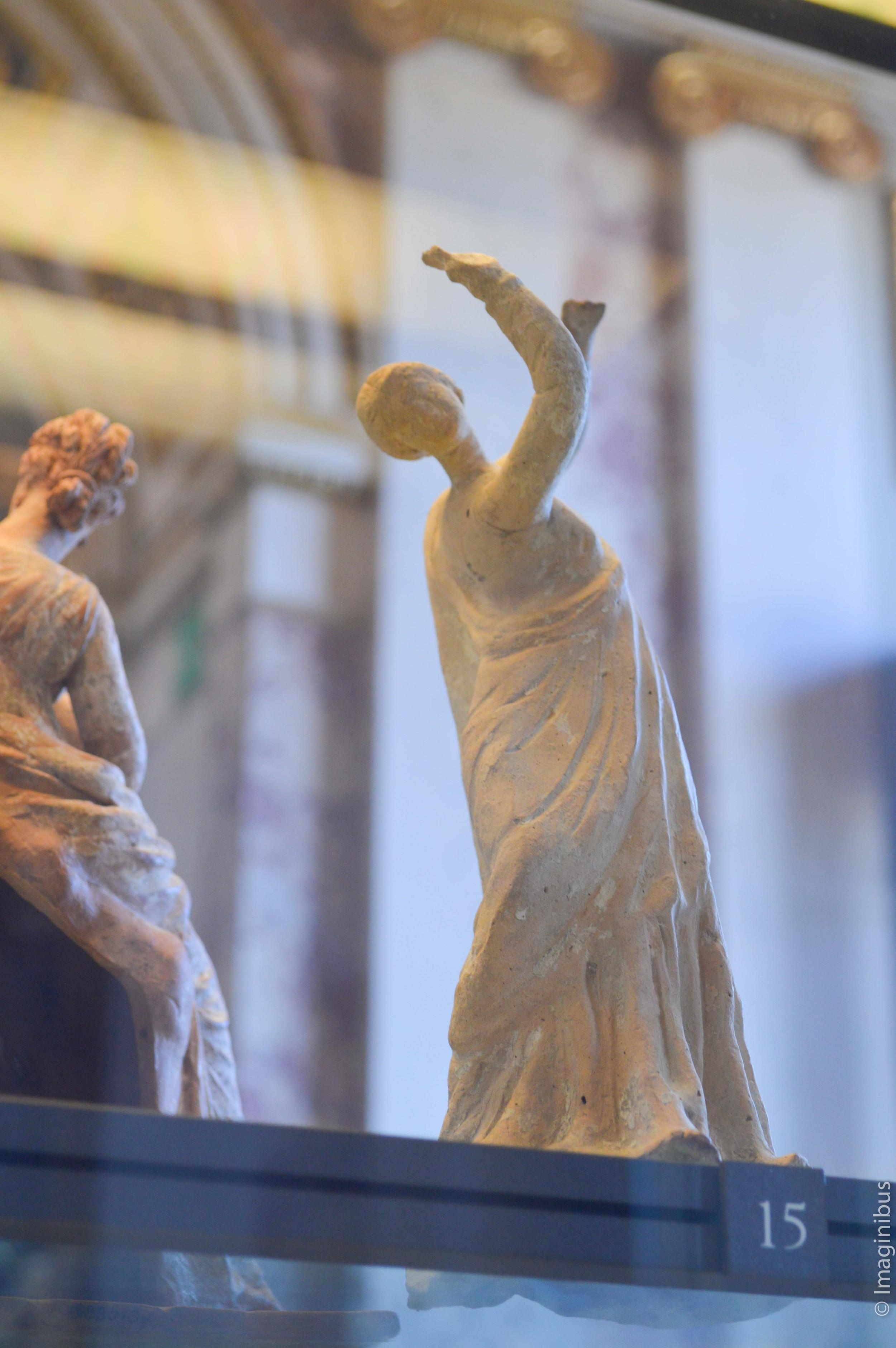 Louvre, Terracotta Statue, Greek Woman Dancing