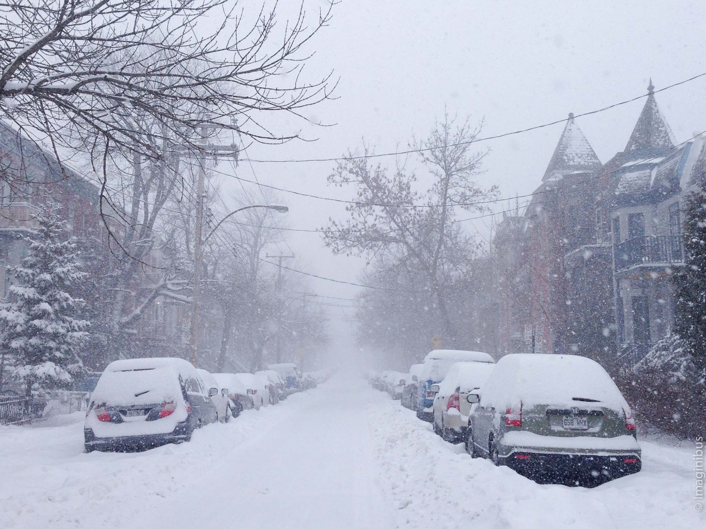 Montreal Snow Mile End