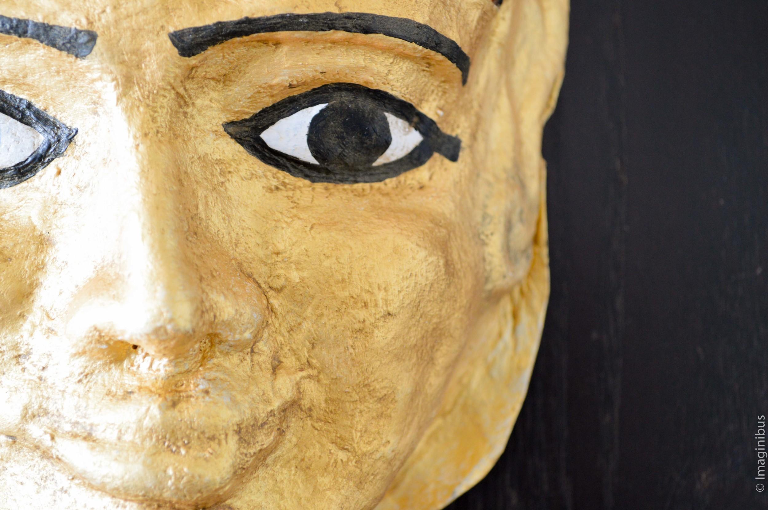 Roman Egyptian Mummy Mask Musée du Louvre Papier Maché