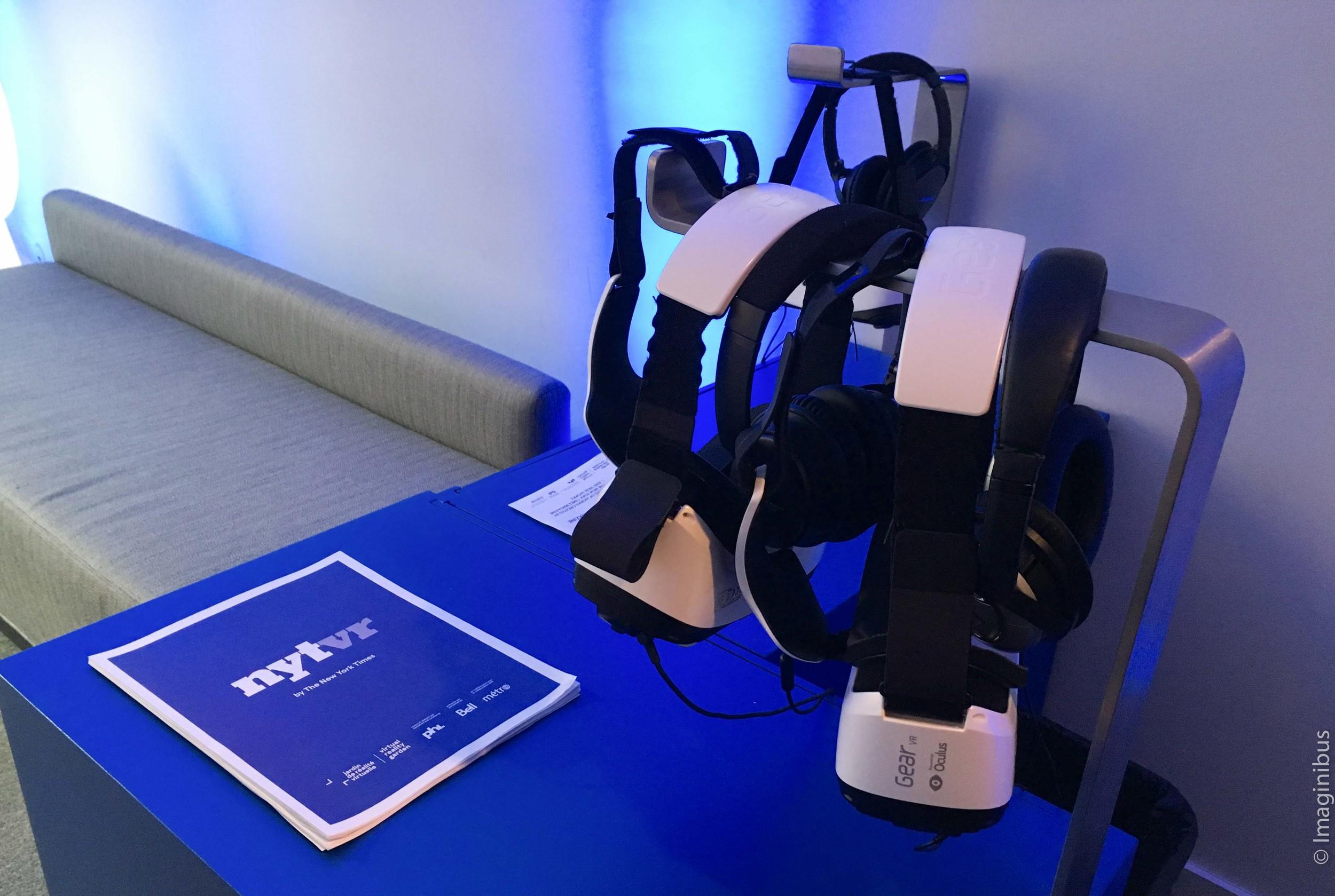 Centre Phi Virtual Reality Garden