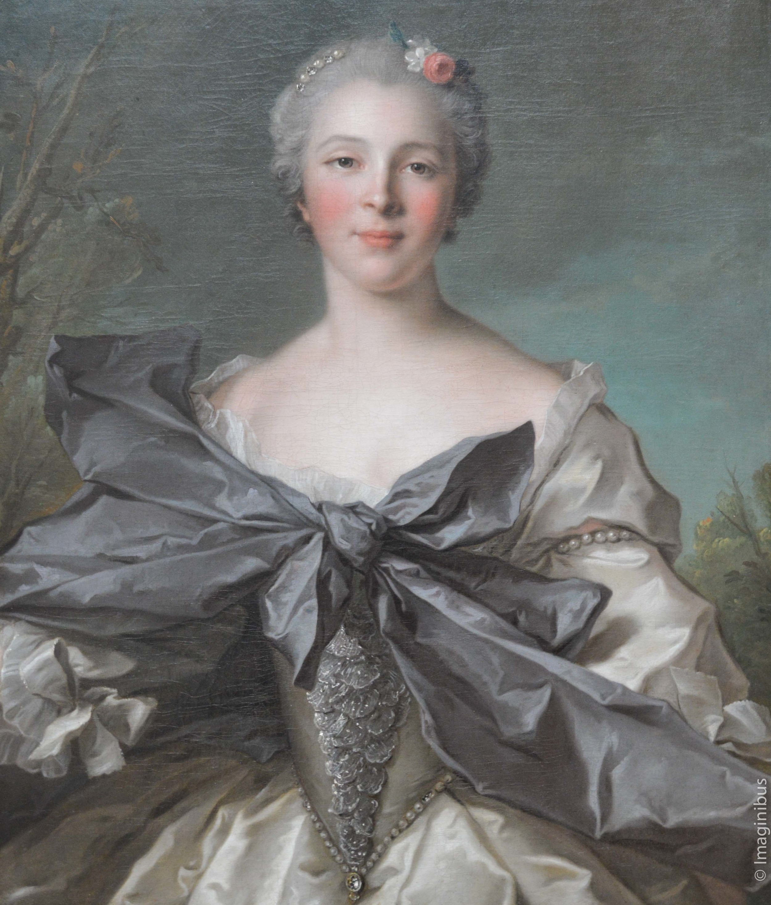 Nattier, Big Bow, French Painting, The Met