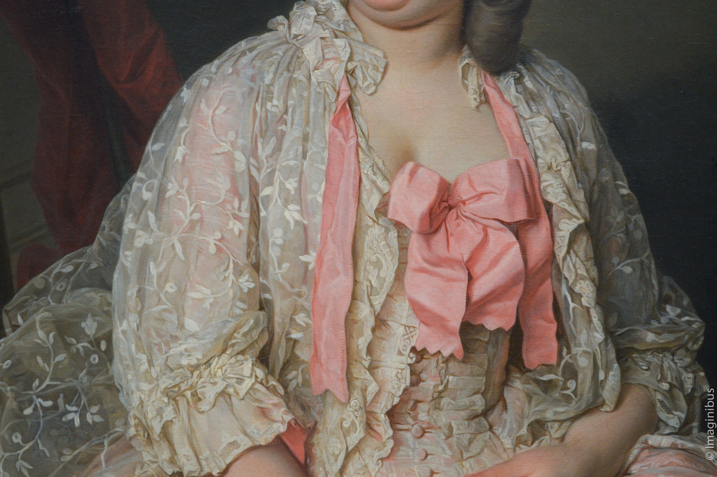 Pink Bow, French Painting, The Met