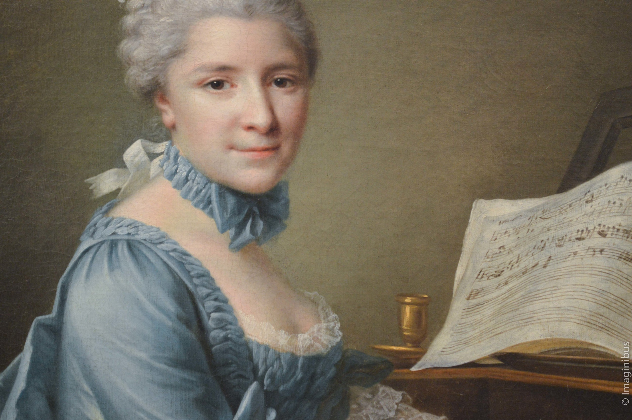 Woman, French Painting, The Met