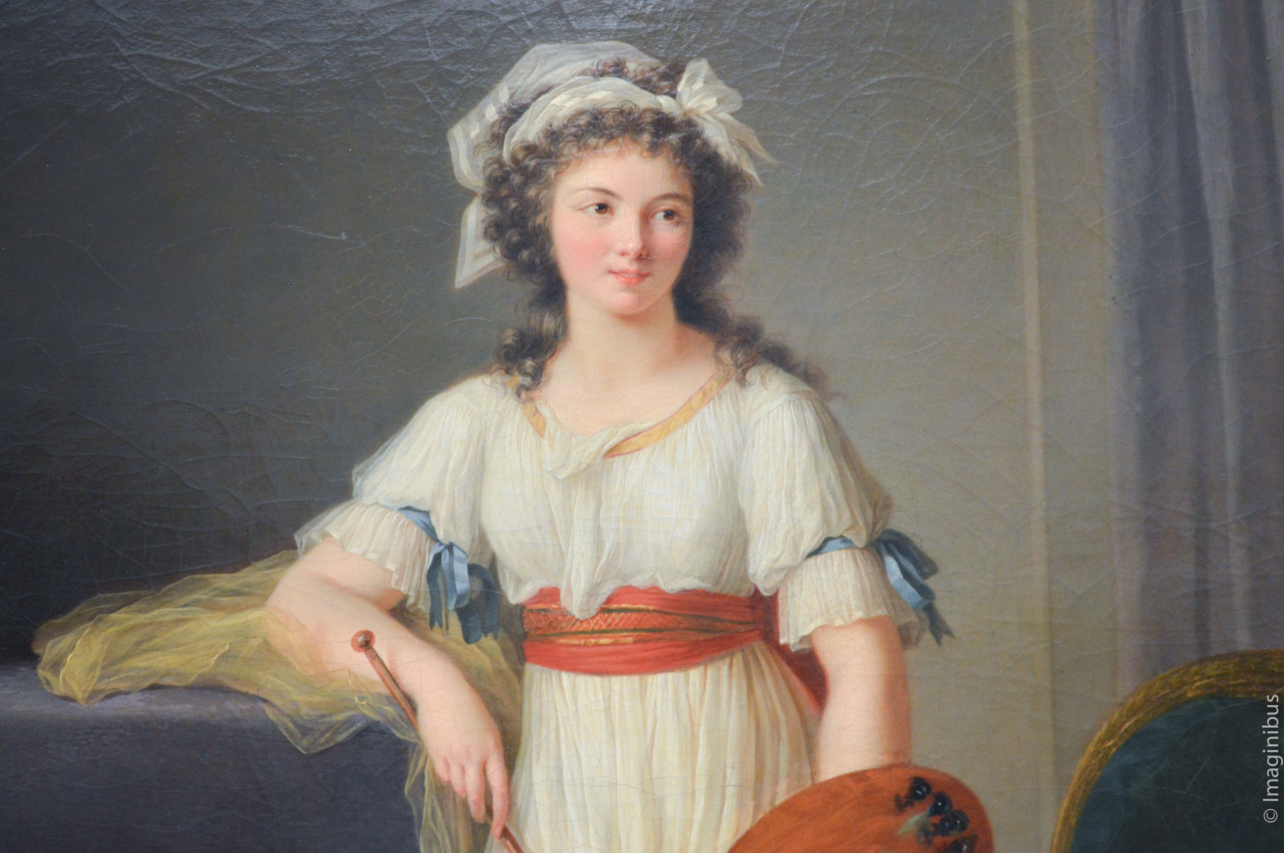 Woman Bows, French Painting, The Met