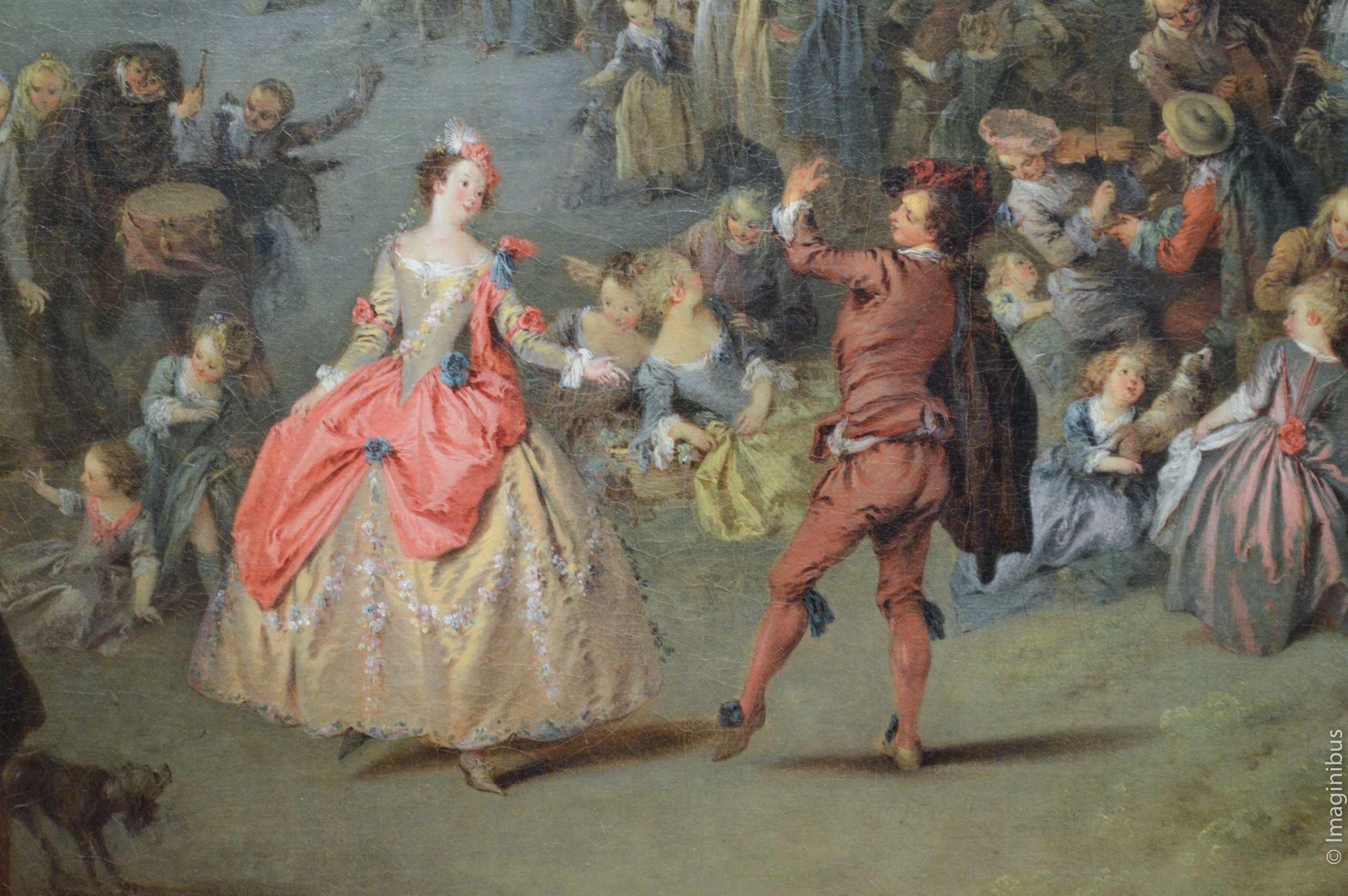Couple Dancing, French Painting, The Met