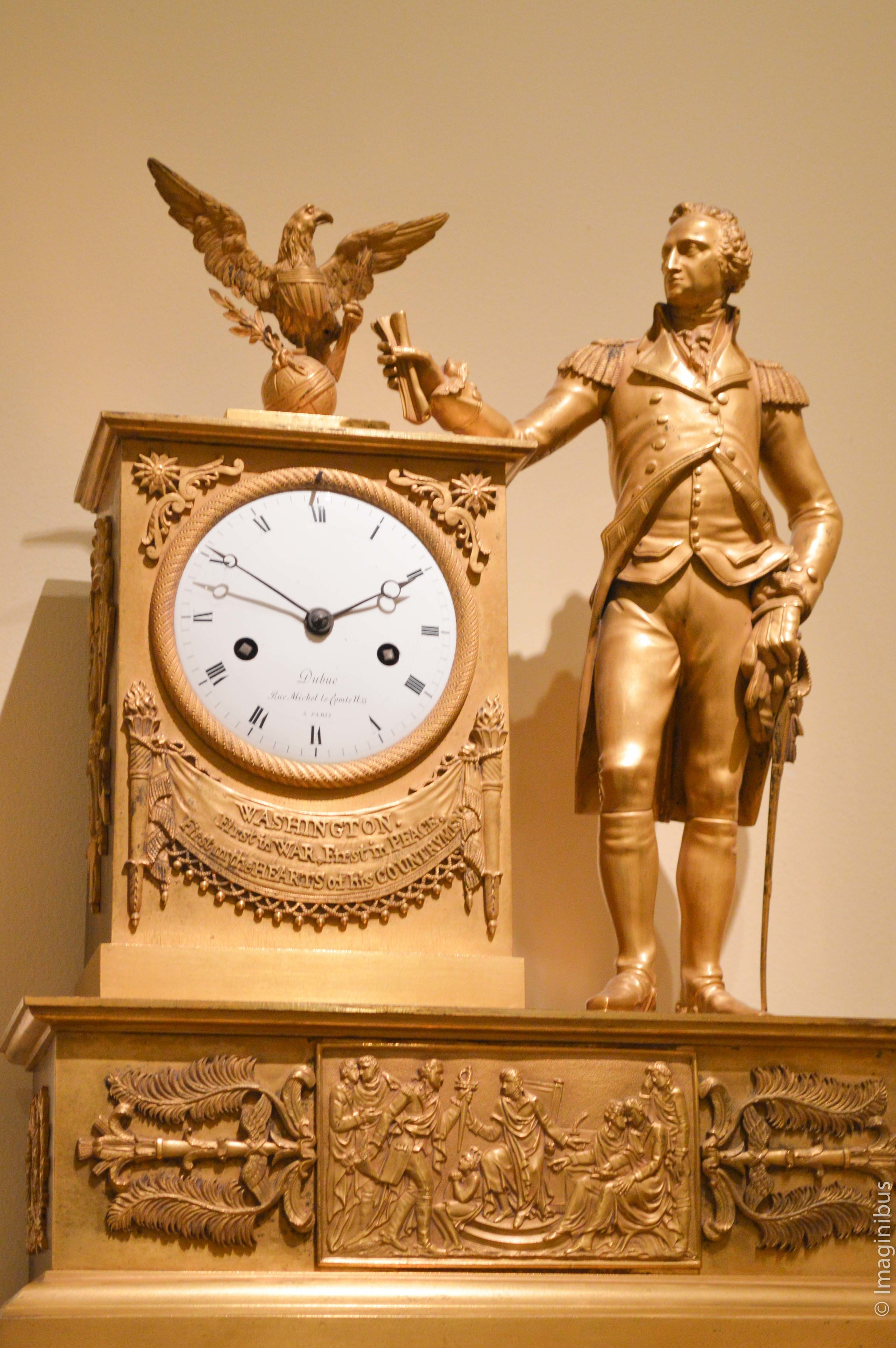 George Washington Clock, Metropolitan Museum of Art