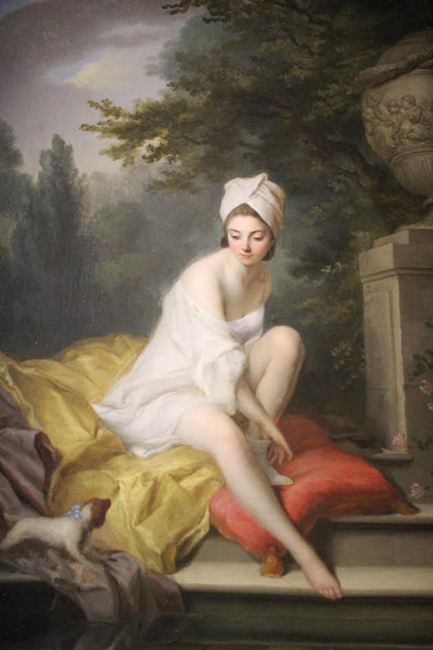 The Bather, Johann Anton de Peters (I feel like I know that painting by heart, now!)