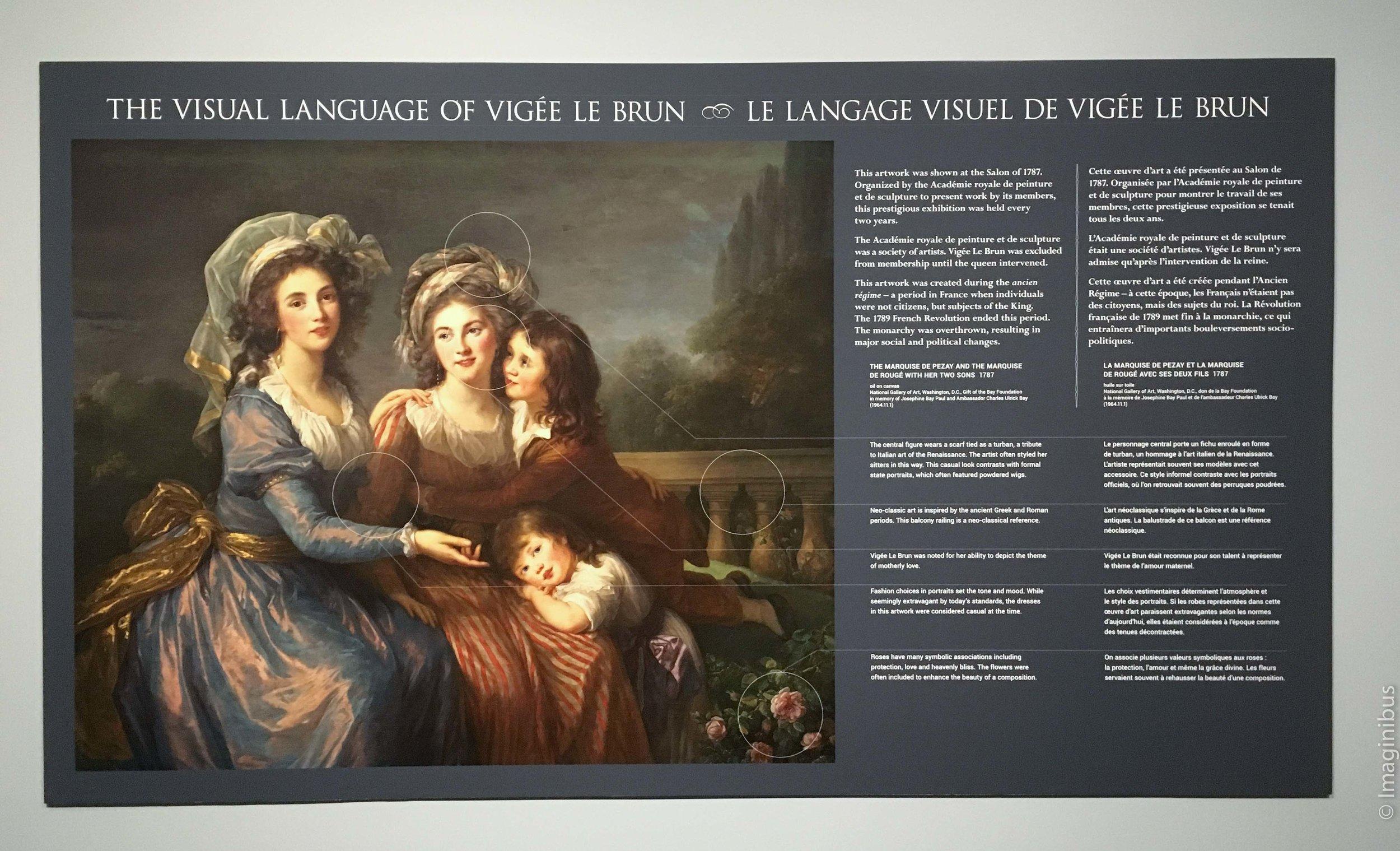 Vigée Le Brun National Gallery of Canada Interpretation