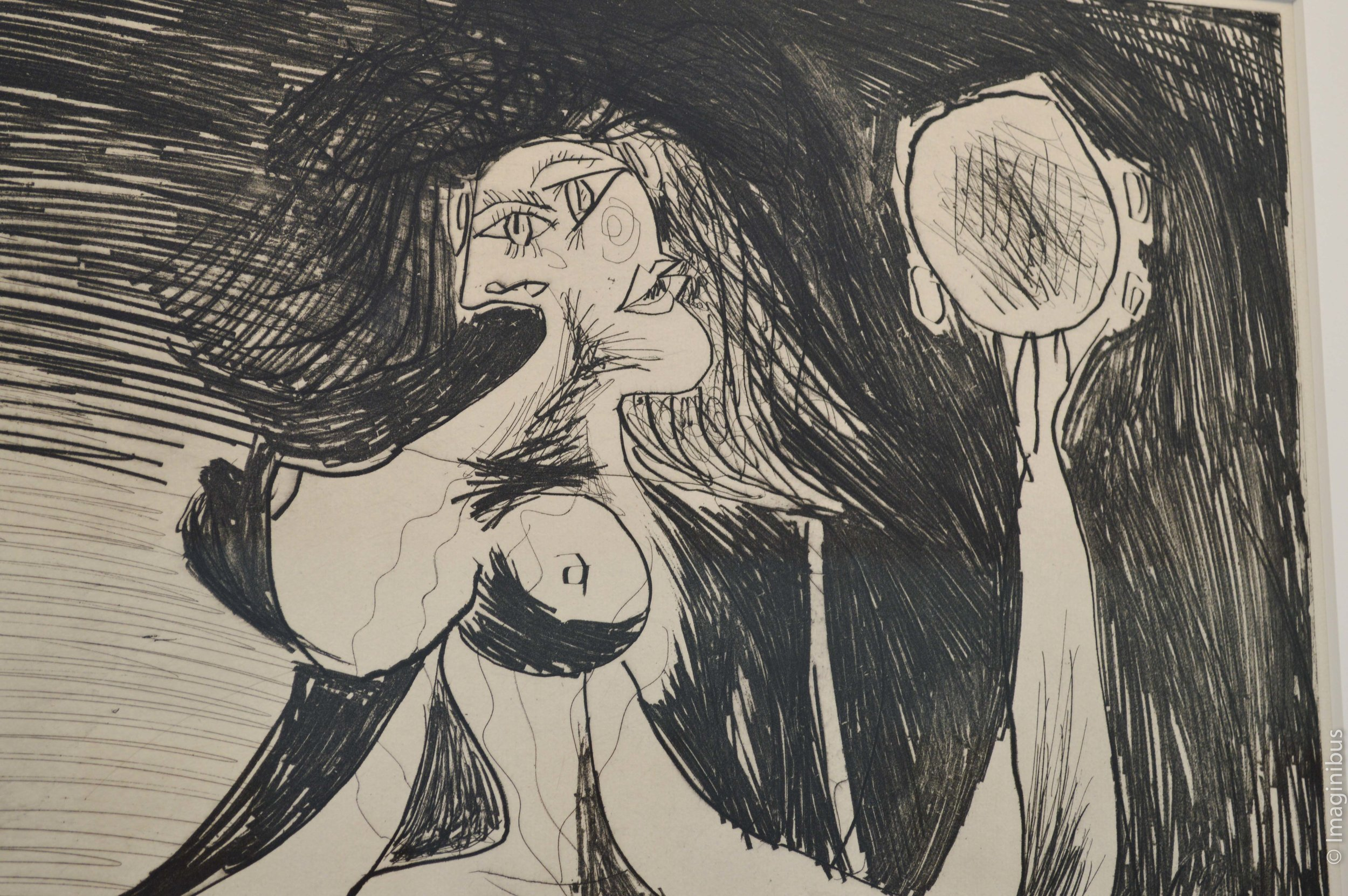 Musee Picasso Paris Woman