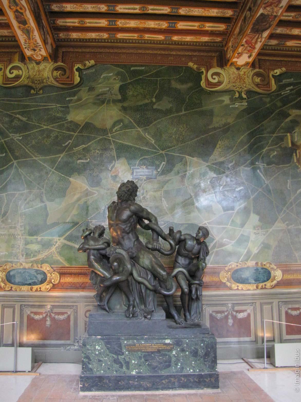 Chateau de Fontainebleau Galerie des Cerfs