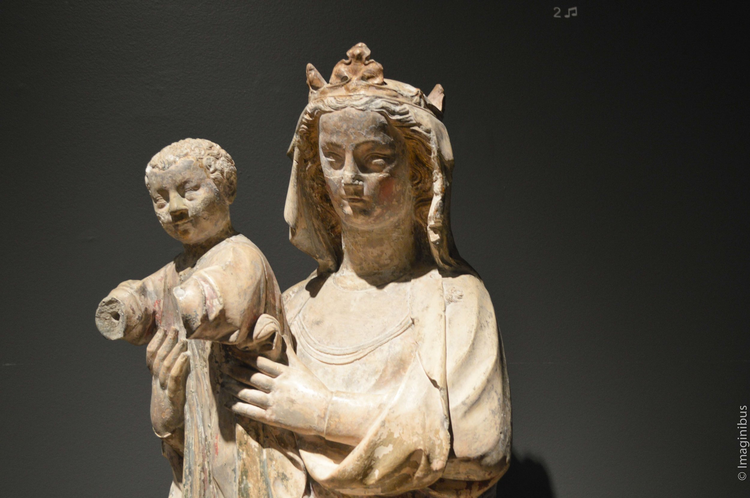 Musical Audioguide Mary and Child Montreal Museum Fine Arts