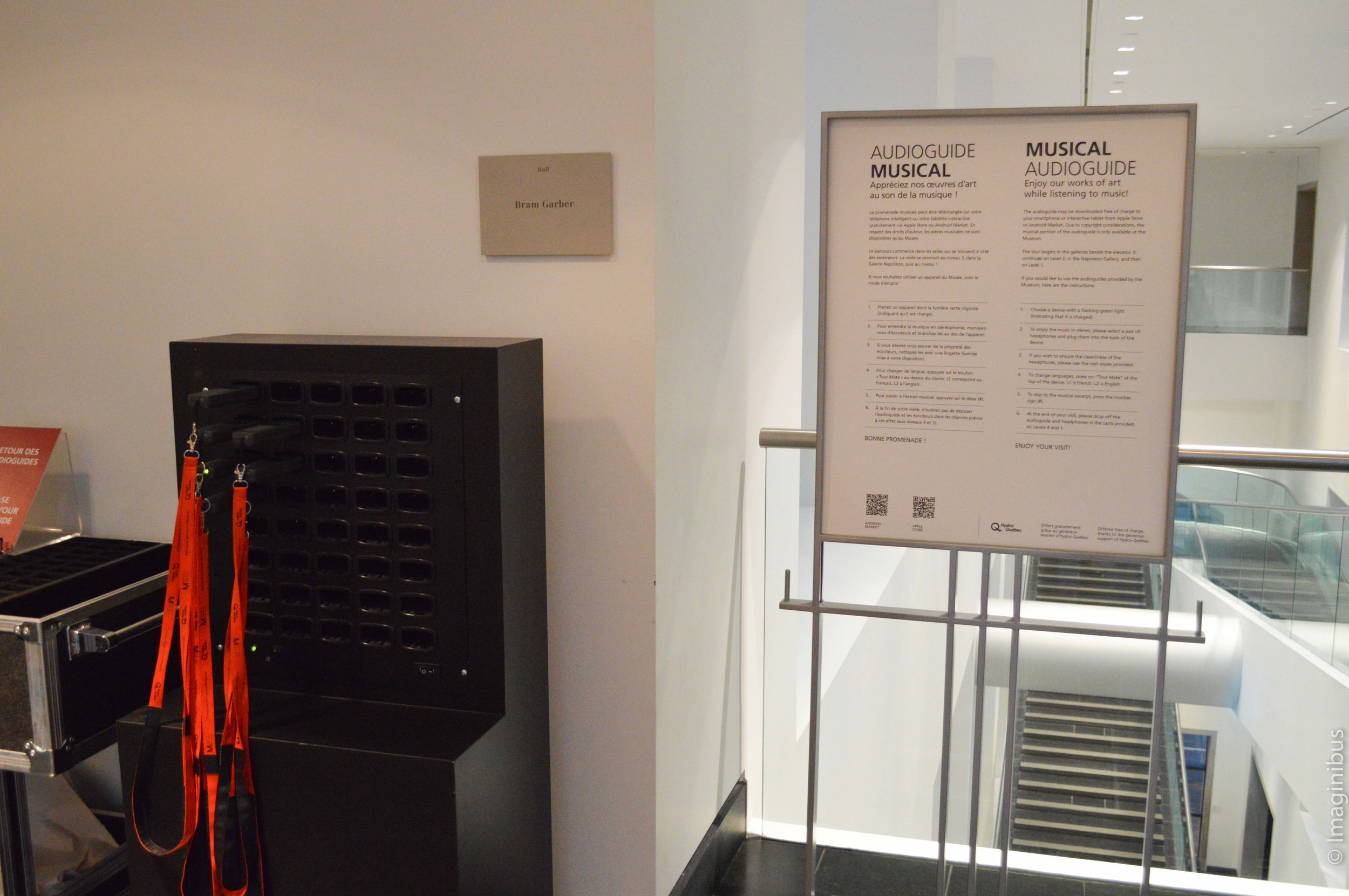 Montreal Museum of Fine Arts Musical Audioguide