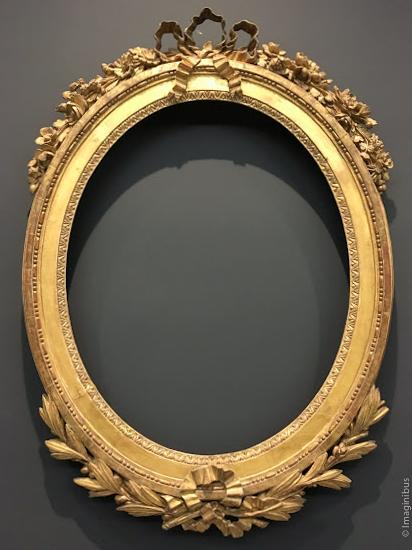 Louis XVI Frame Louvre Museum Bow