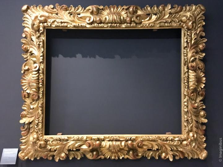 Italian Frame Louvre Museum Le Nain