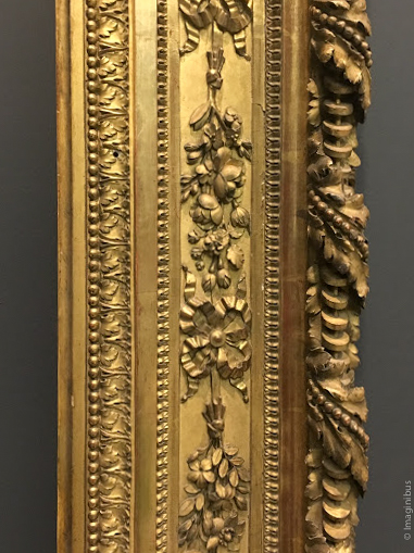Louis XVI Frame Louvre Museum