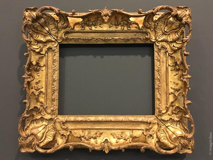 Louis XV Frame Louvre Museum