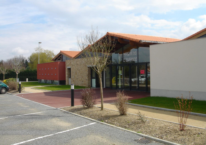 Maison enfance La Chapelle Heulin - Enet Dolowy Architecture