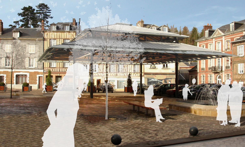 Halle de marché | Bernay -