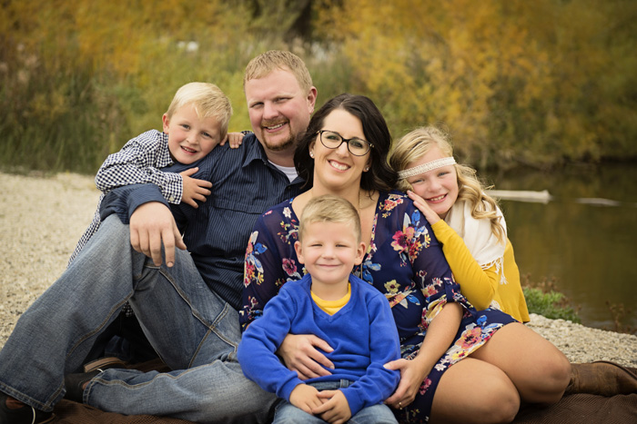 Joah & Heather | Sanborn Campground Family Session