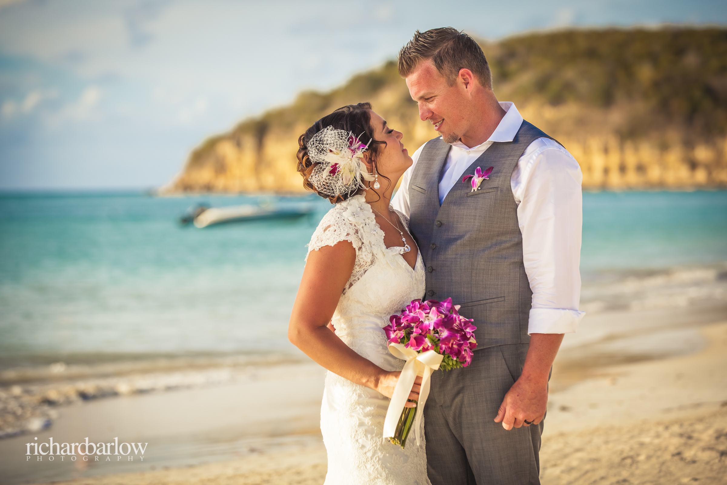 Sandals Antigua Grande Destination Wedding Bride