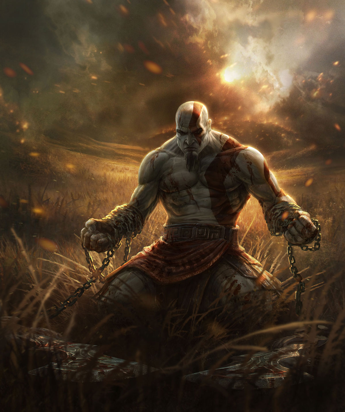 God of War  image from  Sony Playstation
