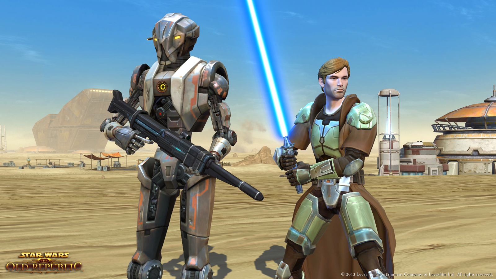 Star Wars: The Old Republic , another game removed from Star Wars cannon,from  Bioware
